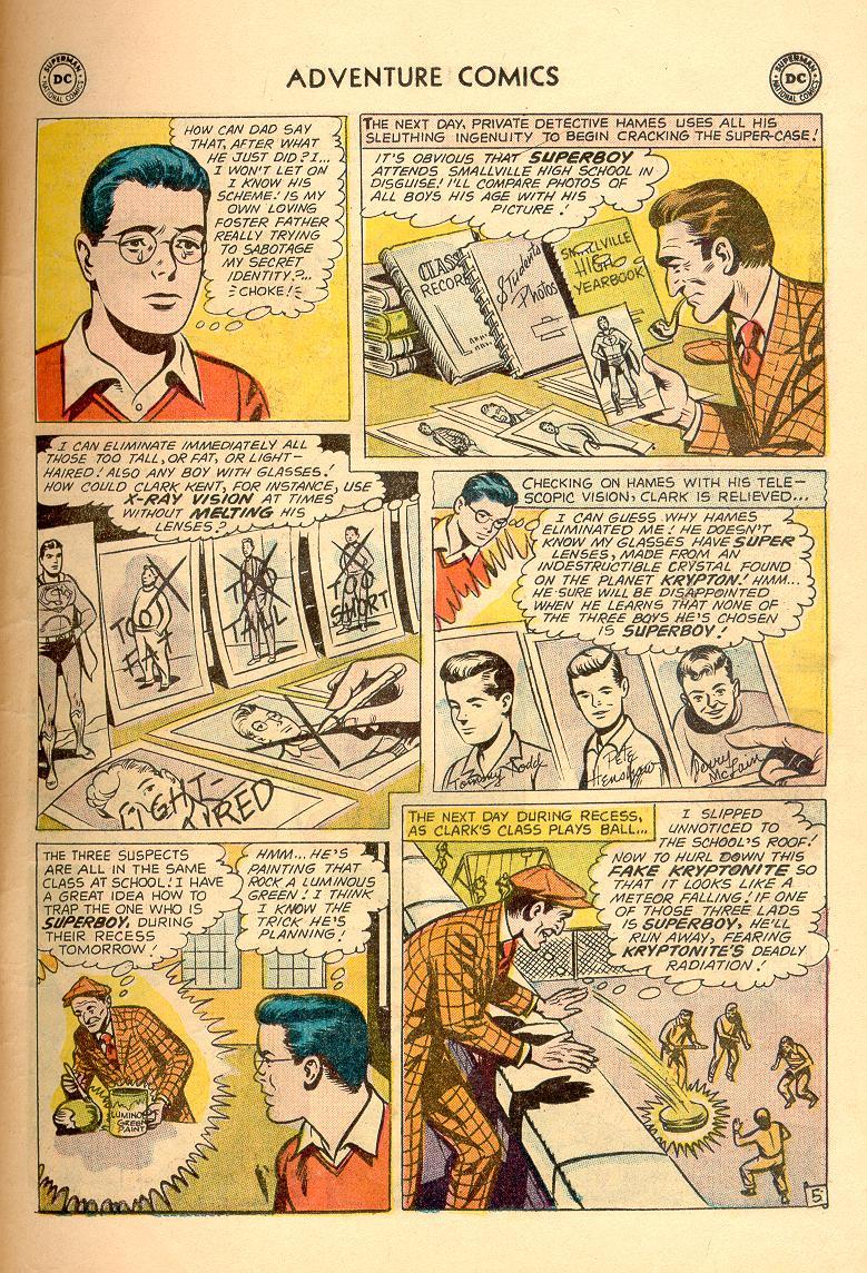 Read online Adventure Comics (1938) comic -  Issue #263 - 7