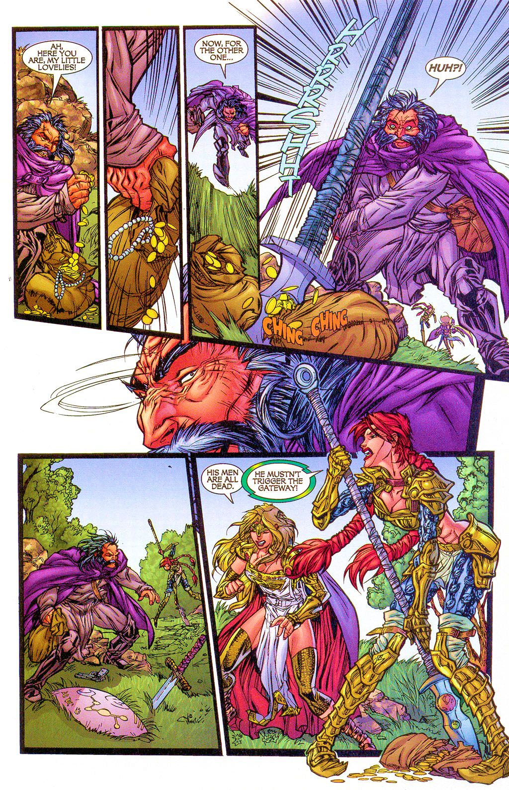 Read online Lady Pendragon / More Than Mortal comic -  Issue #1 - 20
