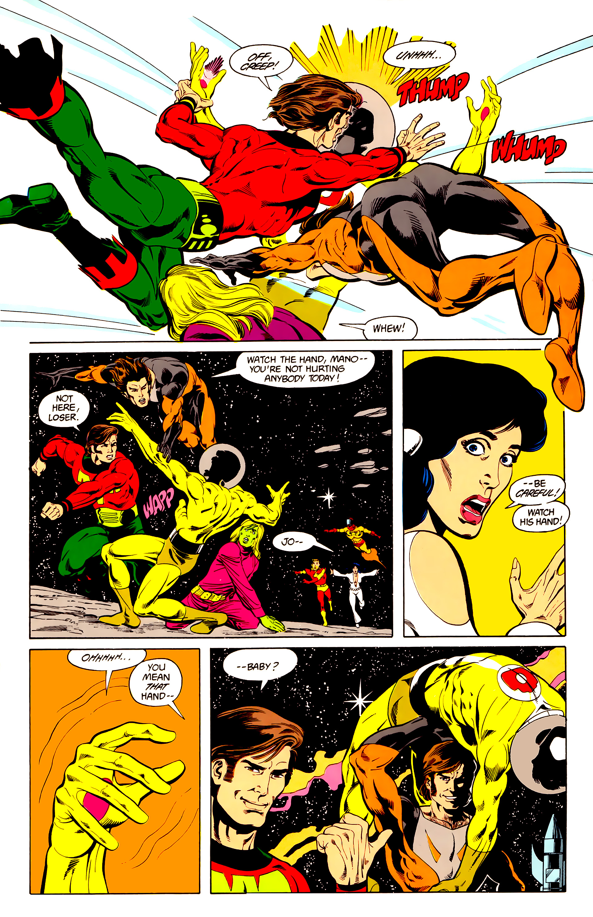 Legion of Super-Heroes (1984) 25 Page 14