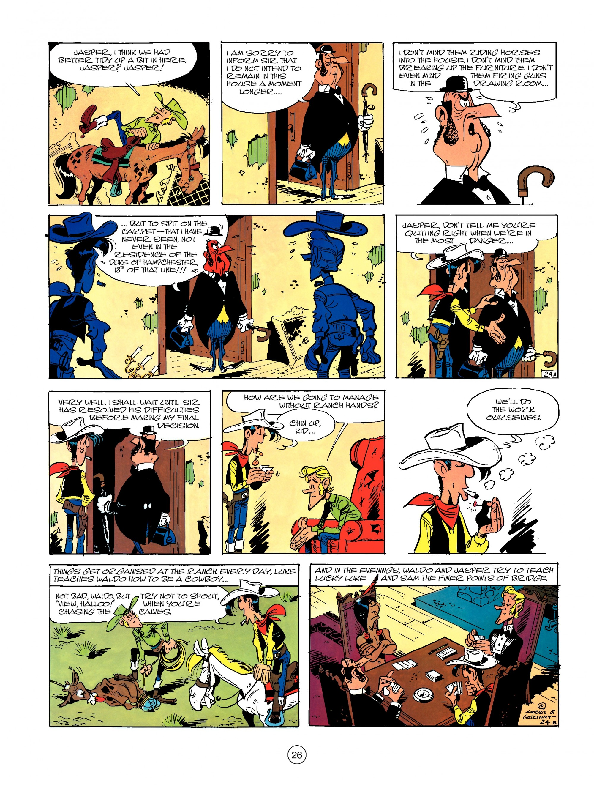 Read online A Lucky Luke Adventure comic -  Issue #13 - 26