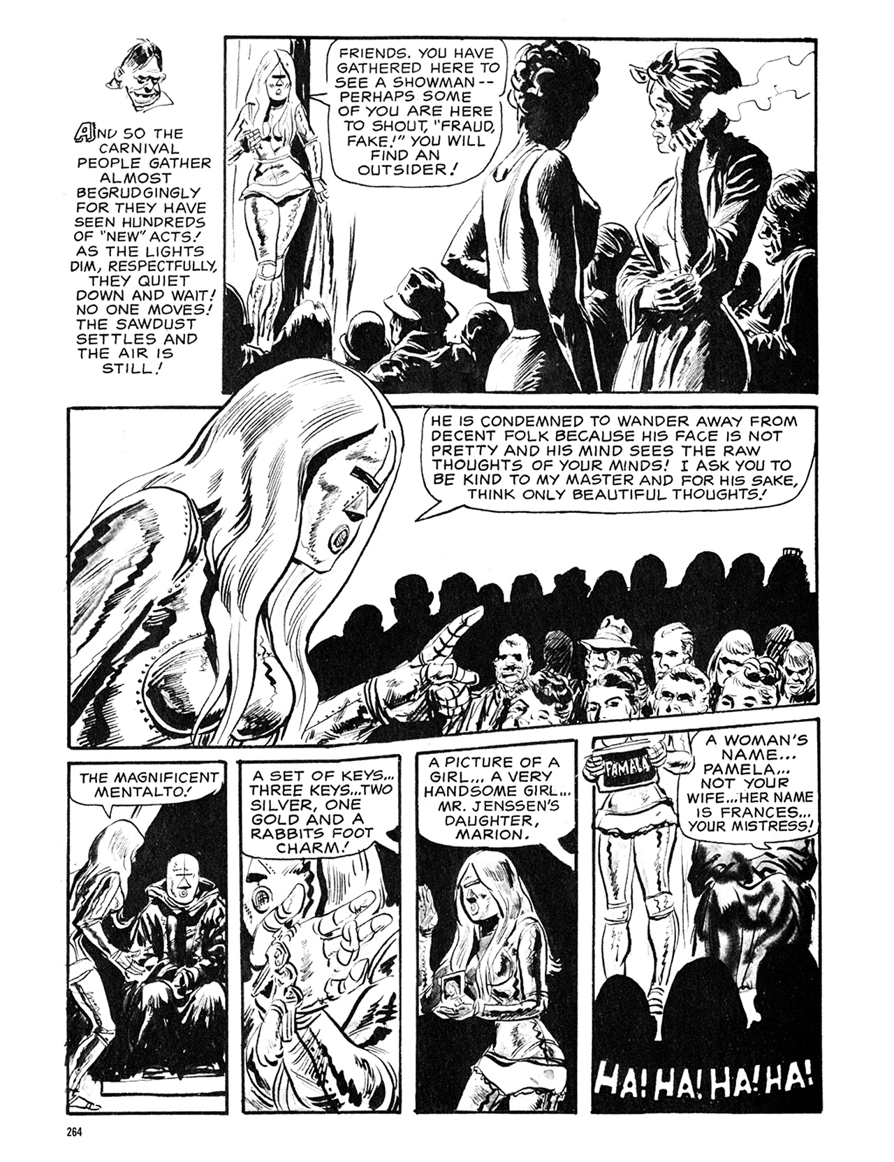 Read online Eerie Archives comic -  Issue # TPB 5 - 265