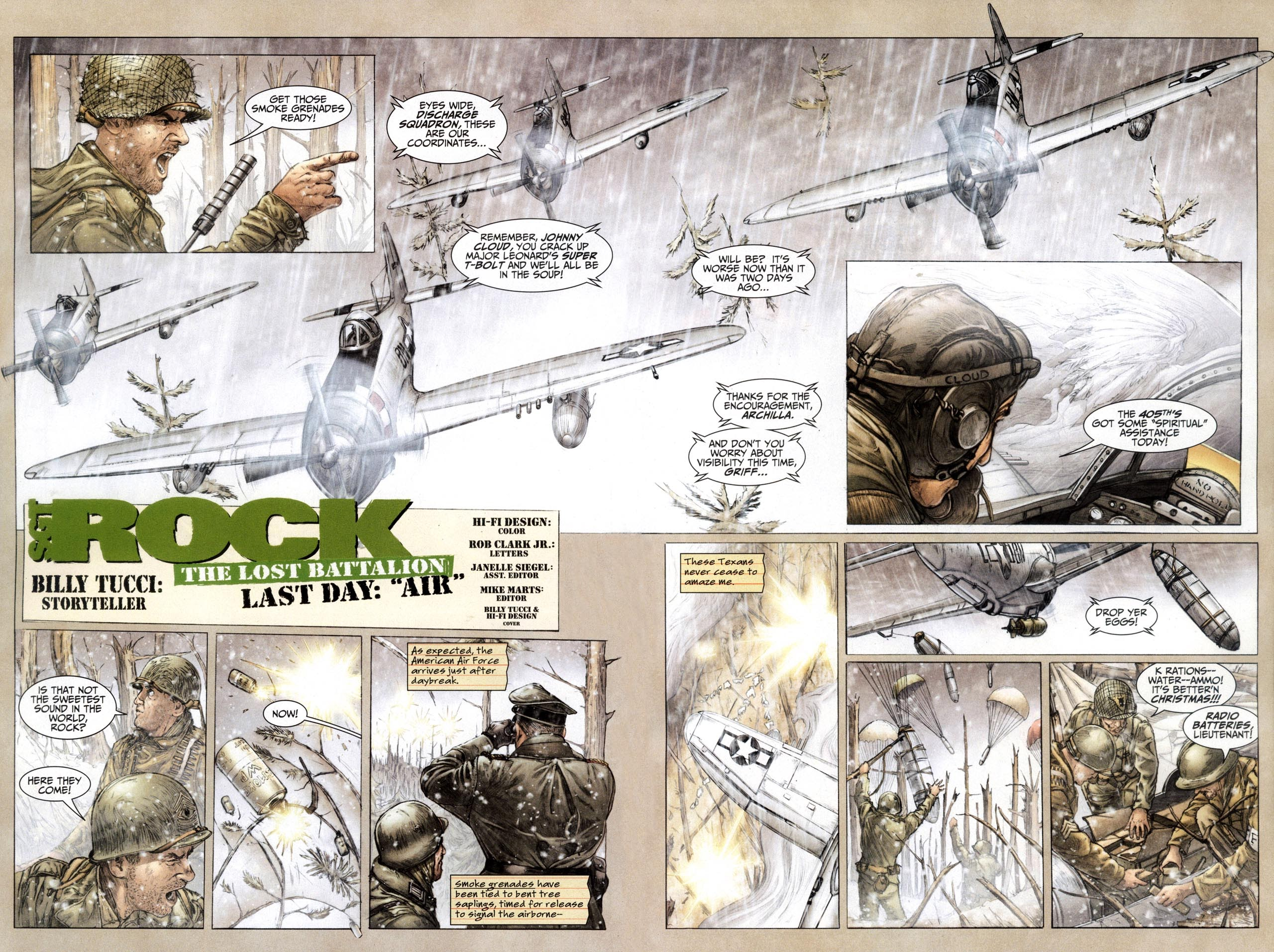 Read online Sgt. Rock: The Lost Battalion comic -  Issue #6 - 5
