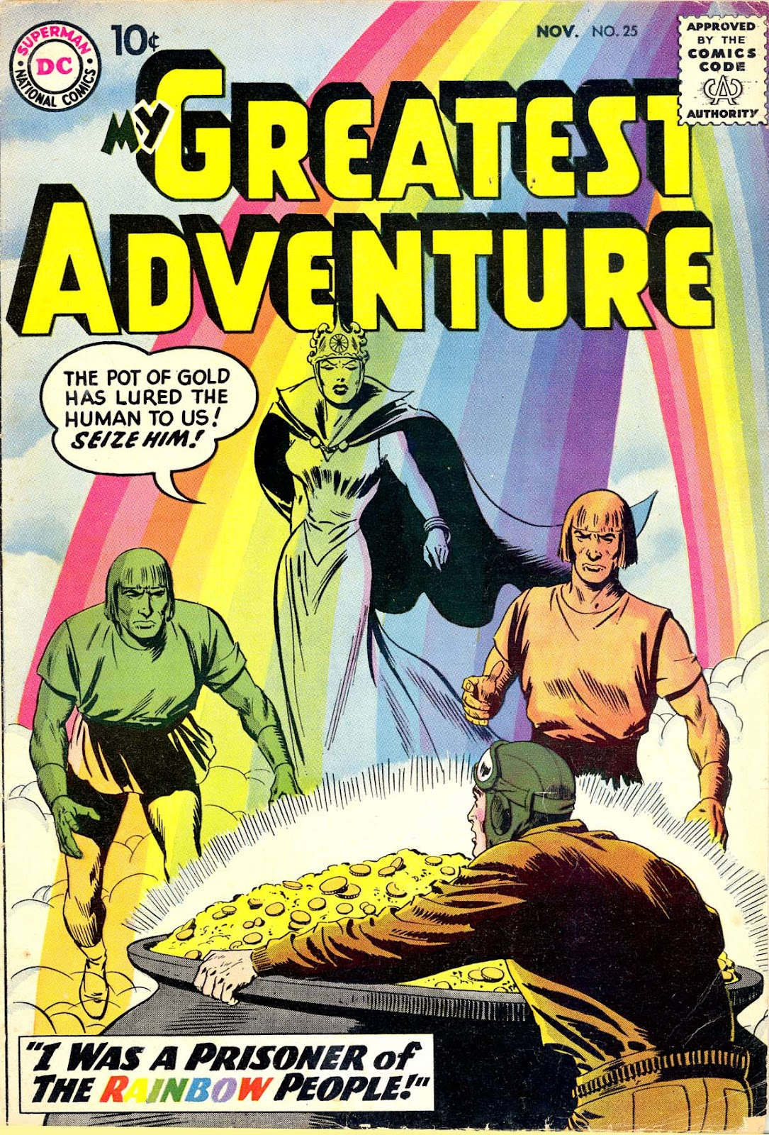 My Greatest Adventure (1955) issue 25 - Page 1