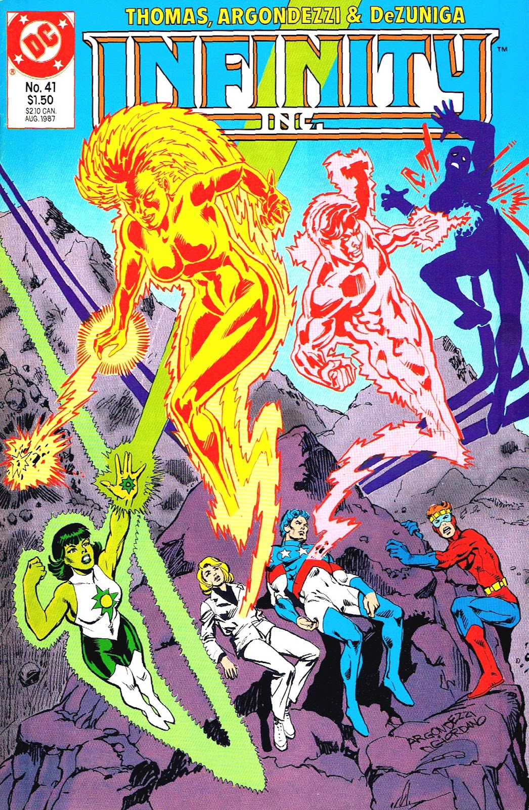 Infinity Inc. (1984) issue 41 - Page 1