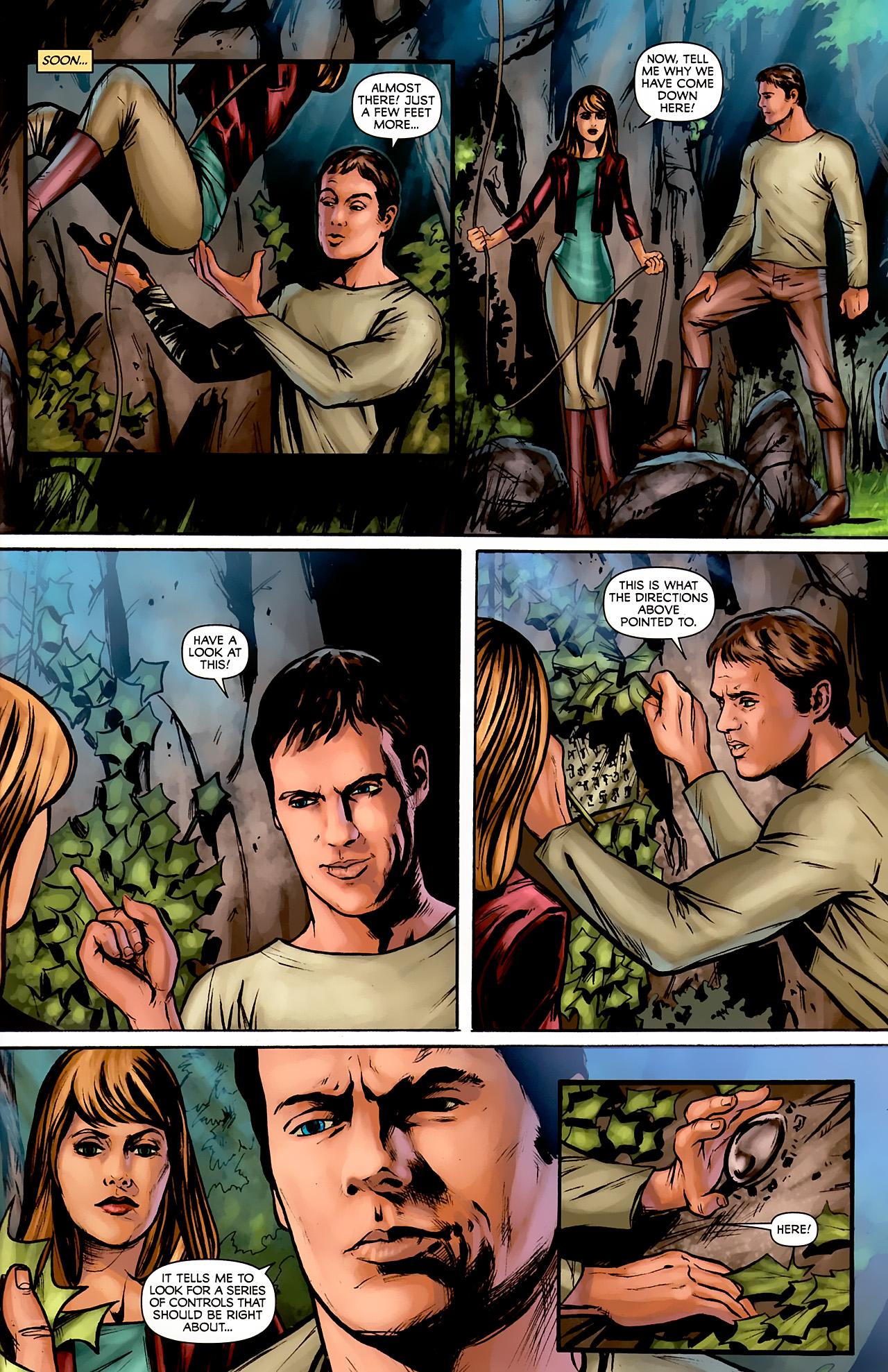 Read online Stargate: Daniel Jackson comic -  Issue #2 - 21