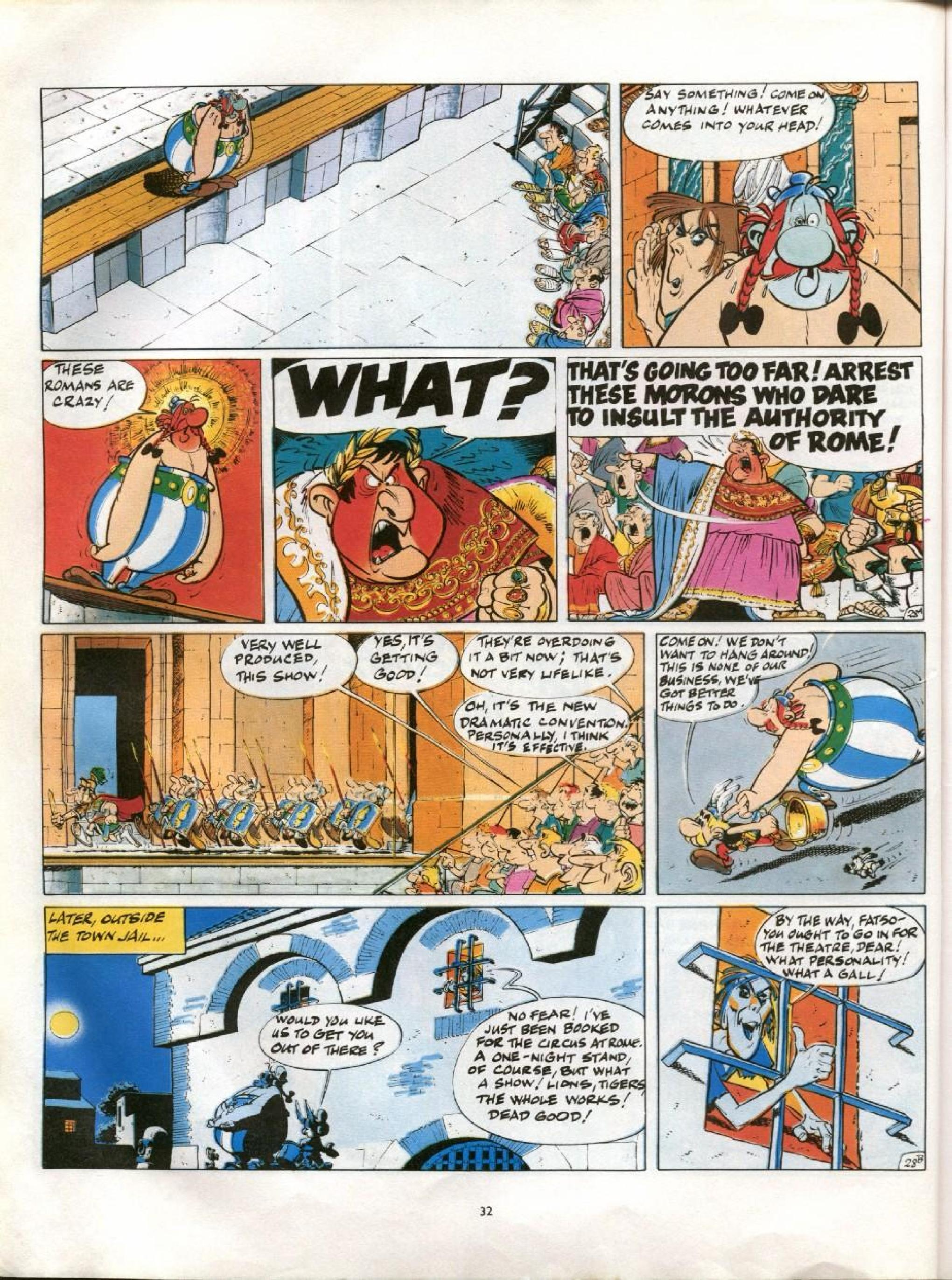 Read online Asterix comic -  Issue #13 - 29