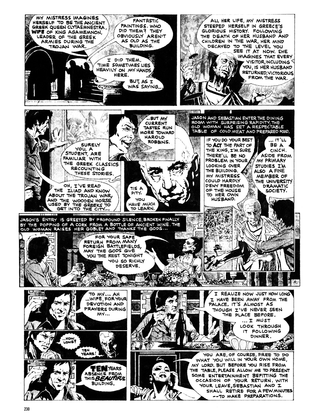 Read online Eerie Archives comic -  Issue # TPB 10 - 231