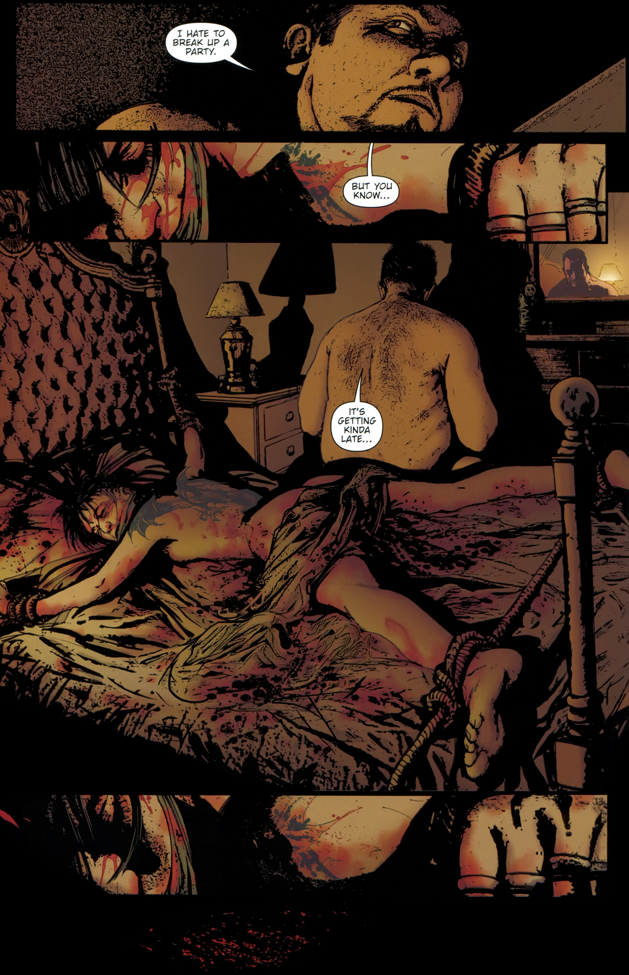 Read online The Girl With the Dragon Tattoo comic -  Issue # TPB 1 - 123