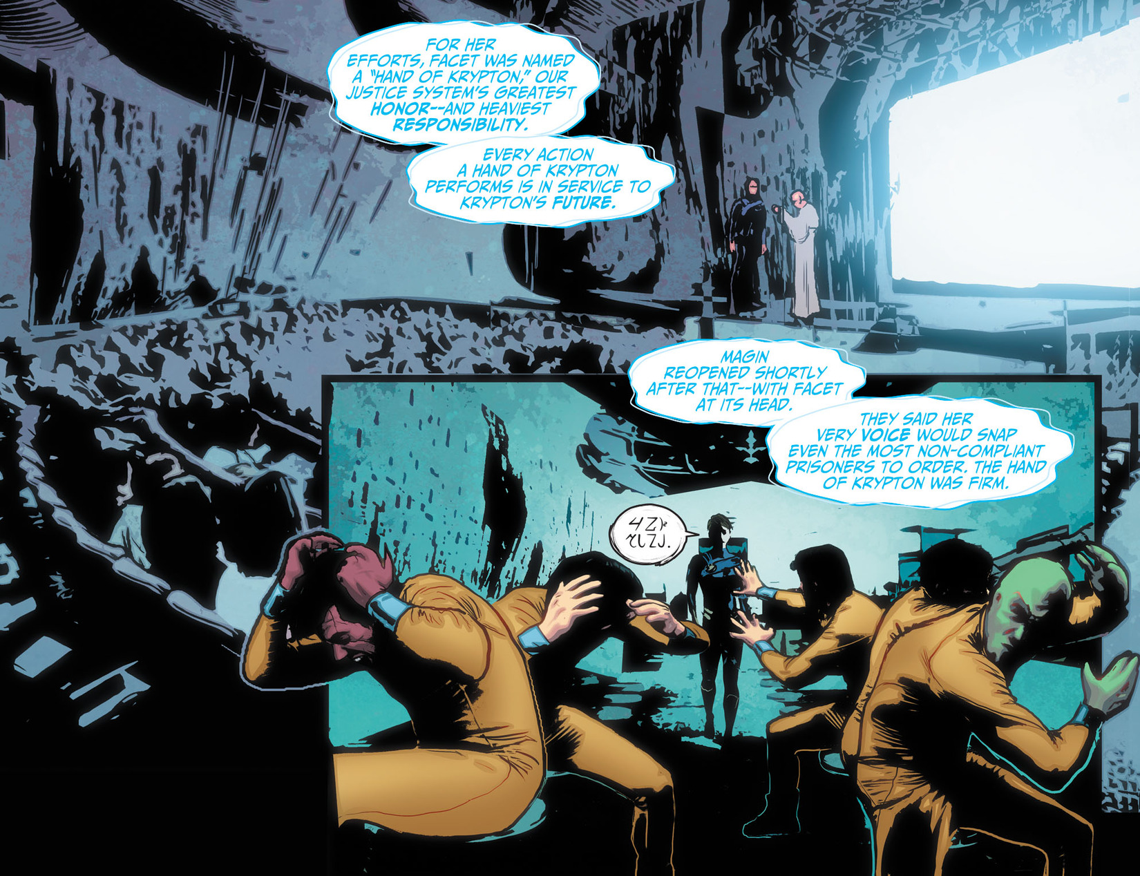 Read online Adventures of Supergirl comic -  Issue #10 - 13