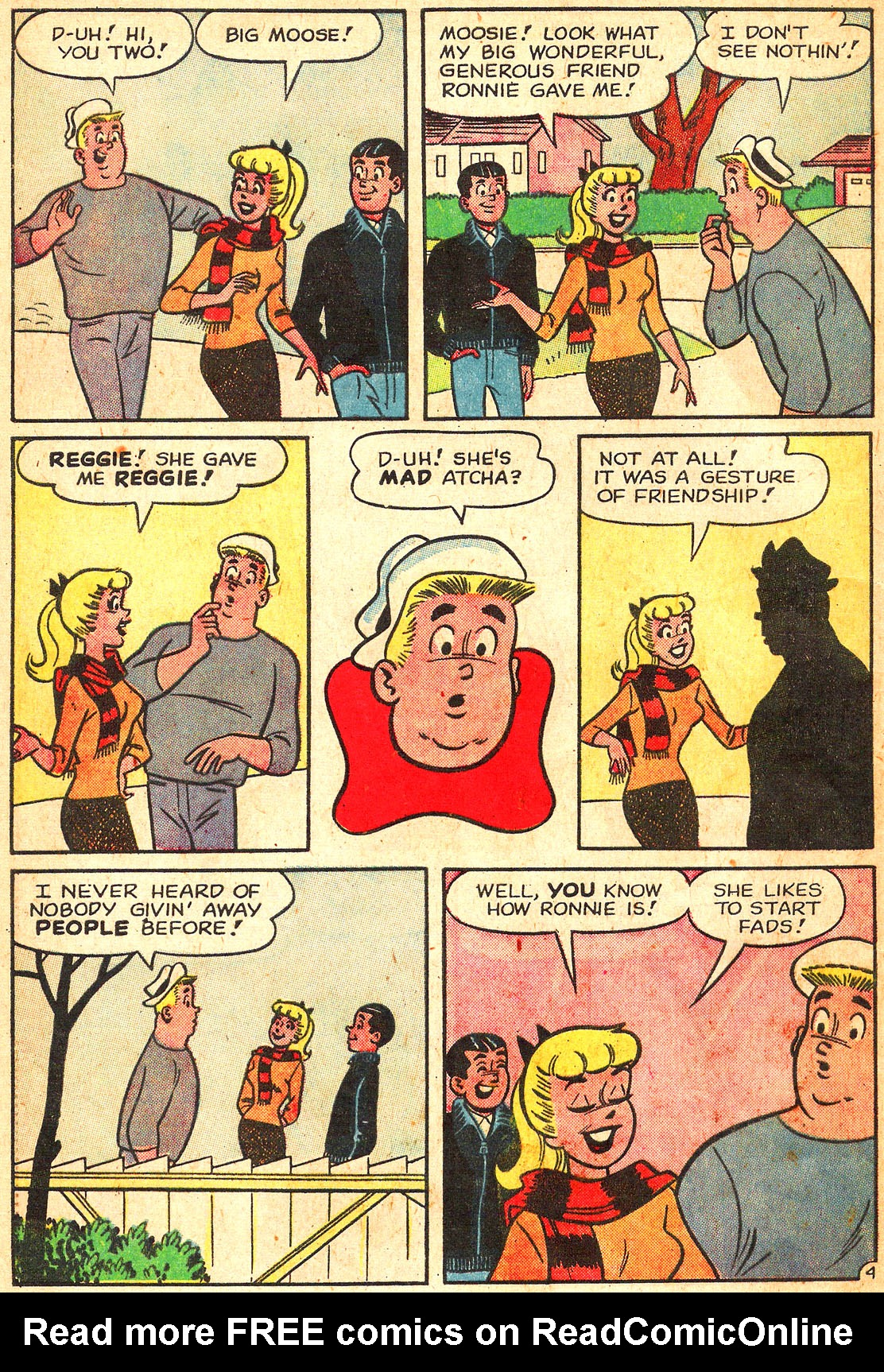 Read online Archie's Girls Betty and Veronica comic -  Issue #87 - 16