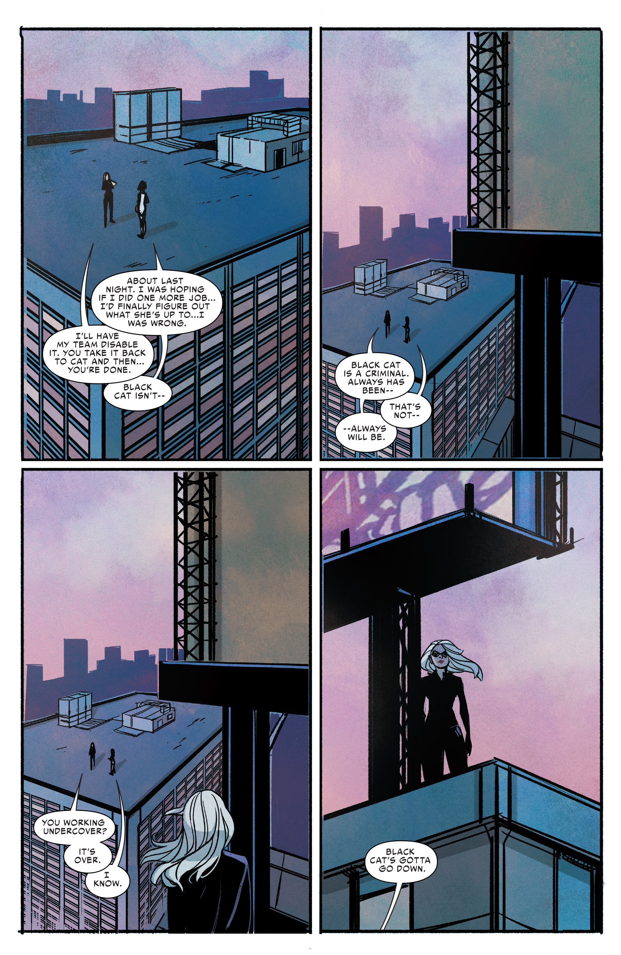 Read online Silk (2016) comic -  Issue #9 - 19