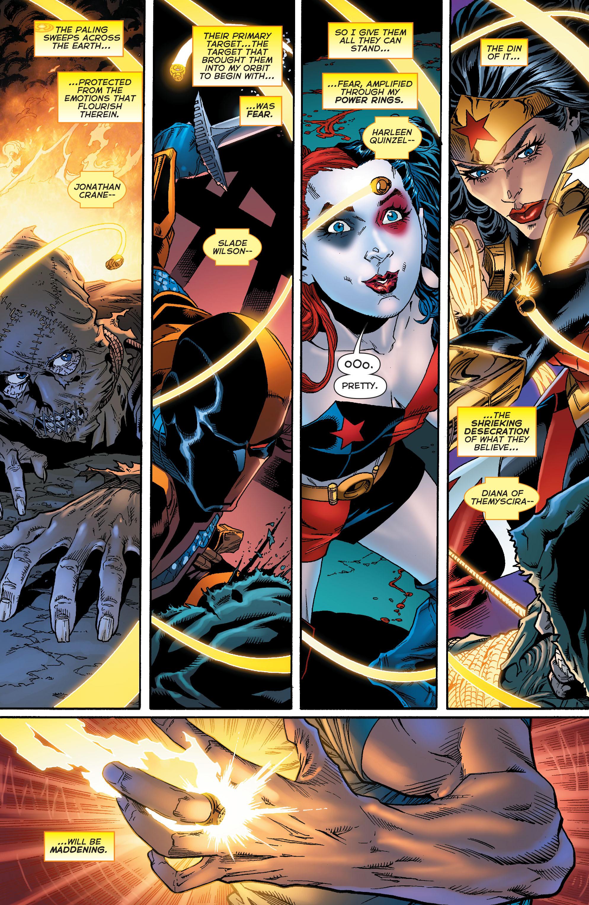 Read online Sinestro comic -  Issue #18 - 19