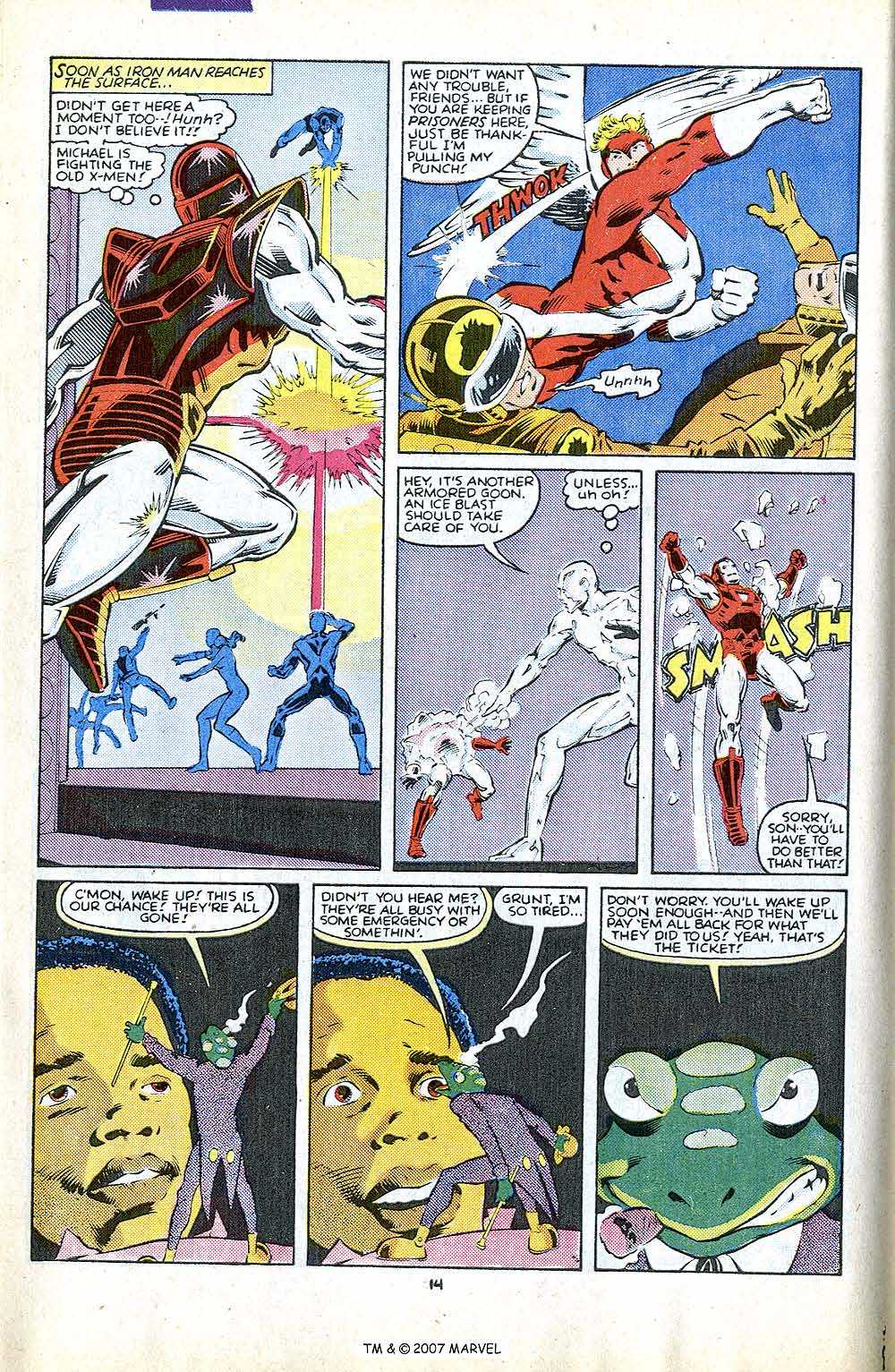 Iron Man Annual issue 8 - Page 20