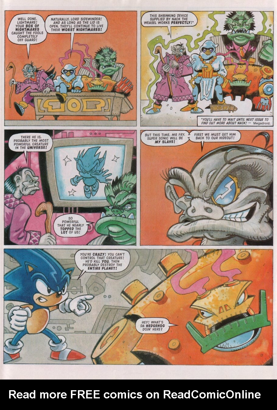 Read online Sonic the Comic comic -  Issue #88 - 6