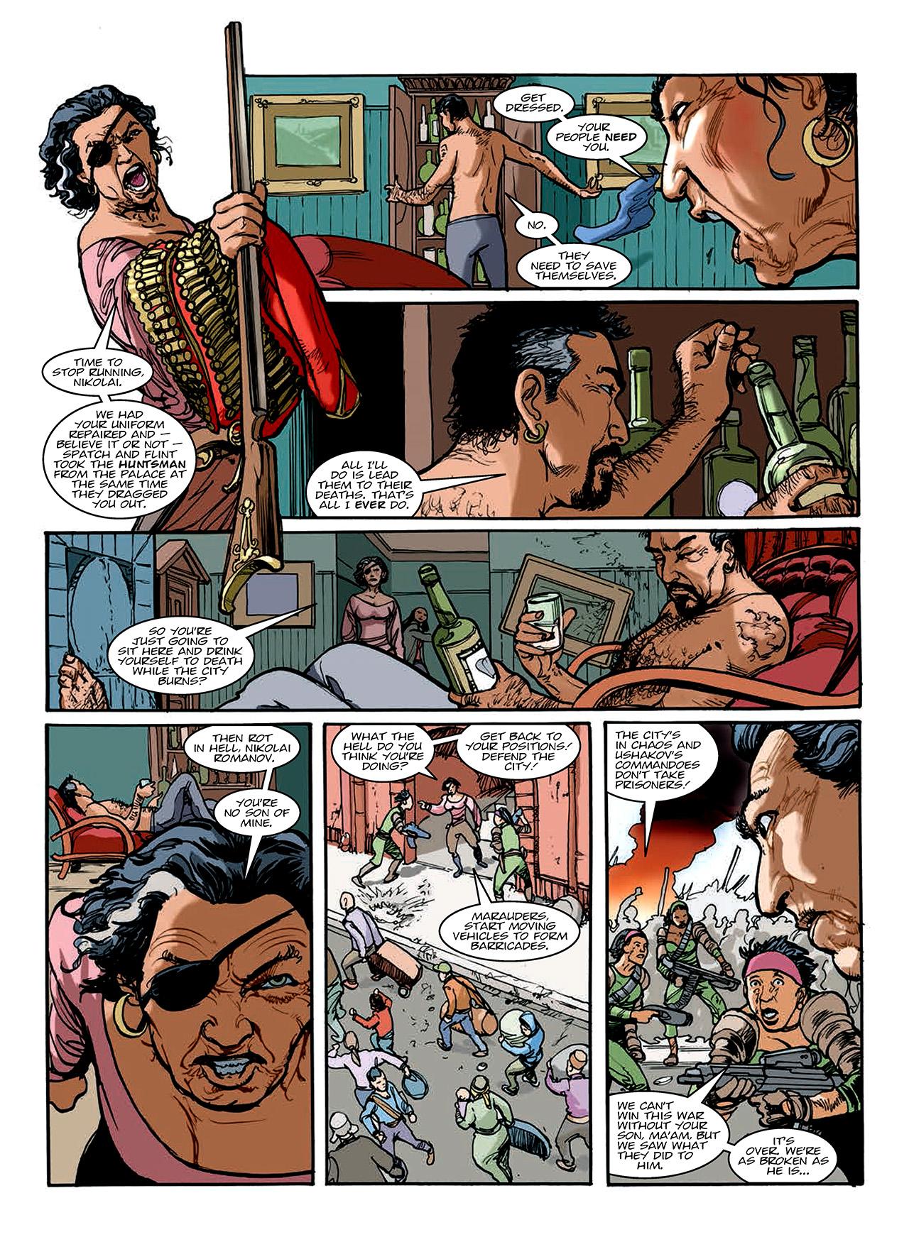 Read online Nikolai Dante comic -  Issue # TPB 10 - 150