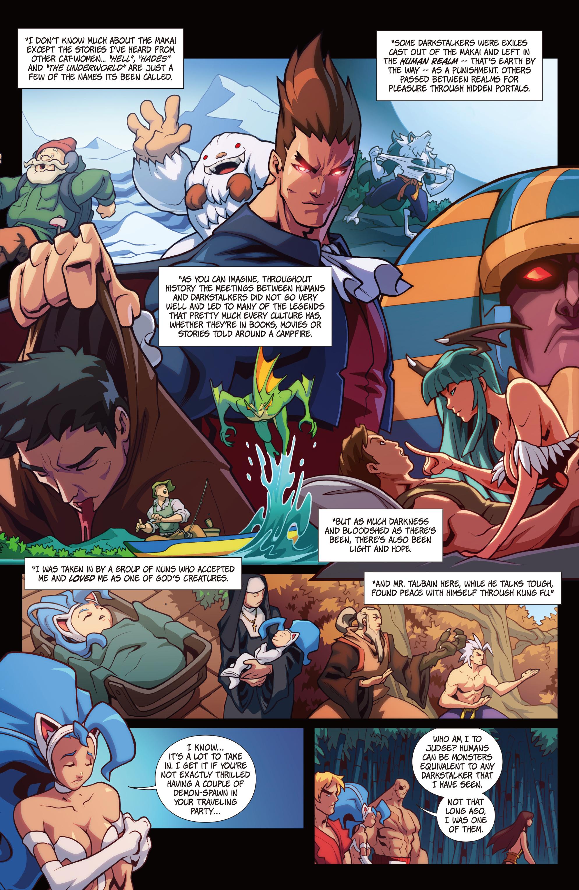 Read online Street Fighter VS Darkstalkers comic -  Issue #2 - 9