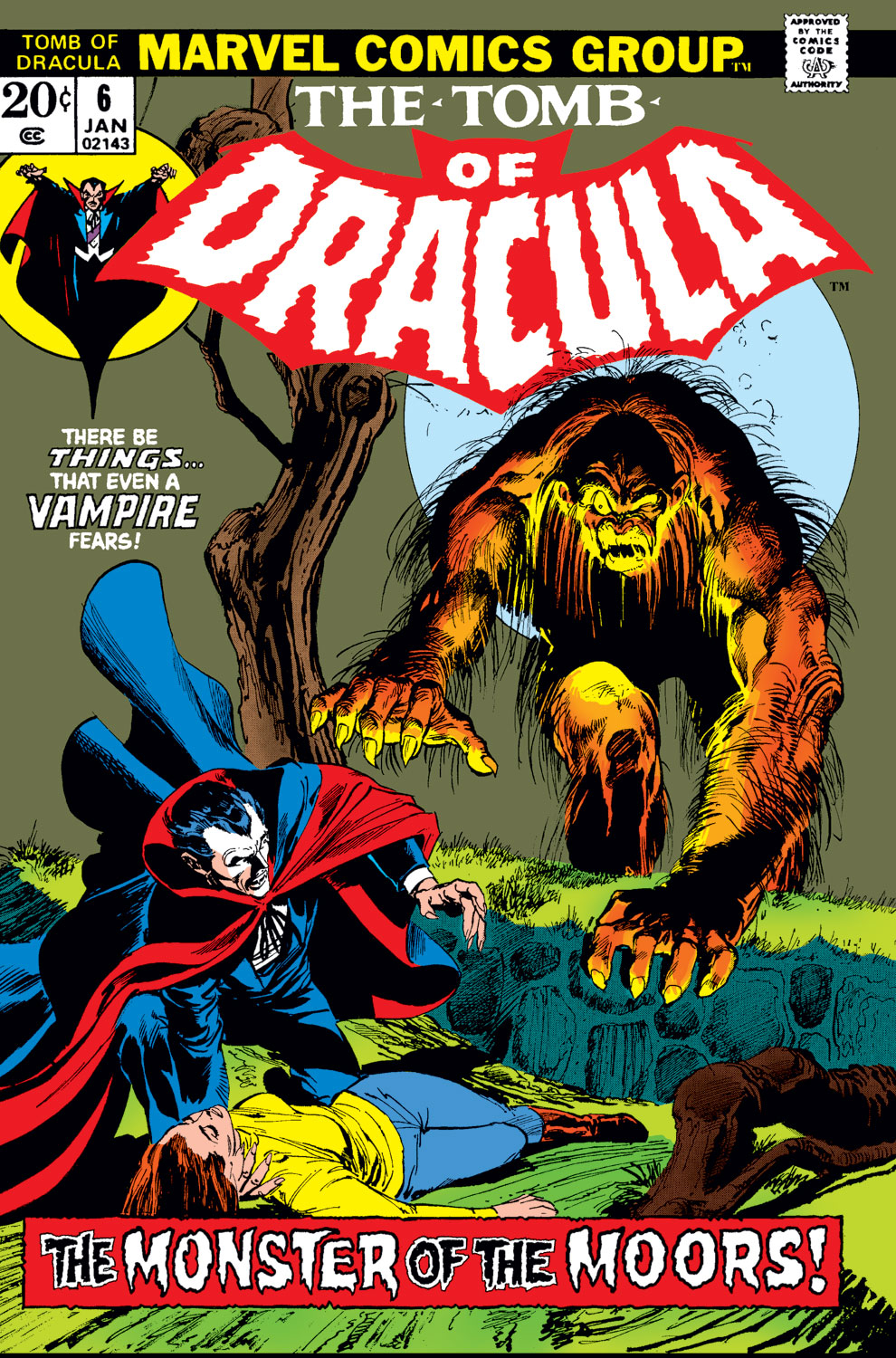 Tomb of Dracula (1972) issue 6 - Page 1