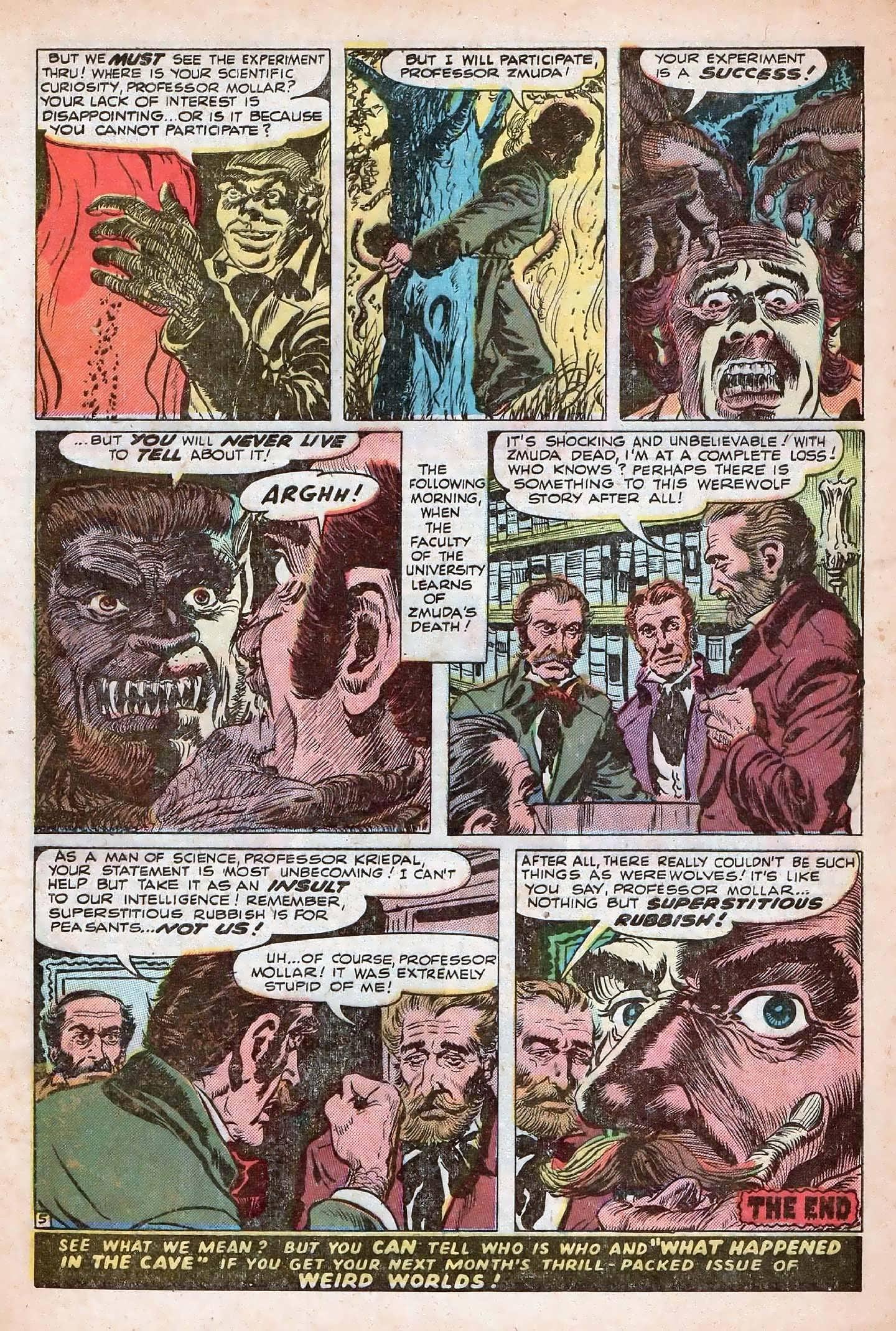 Read online Adventures into Weird Worlds comic -  Issue #20 - 32
