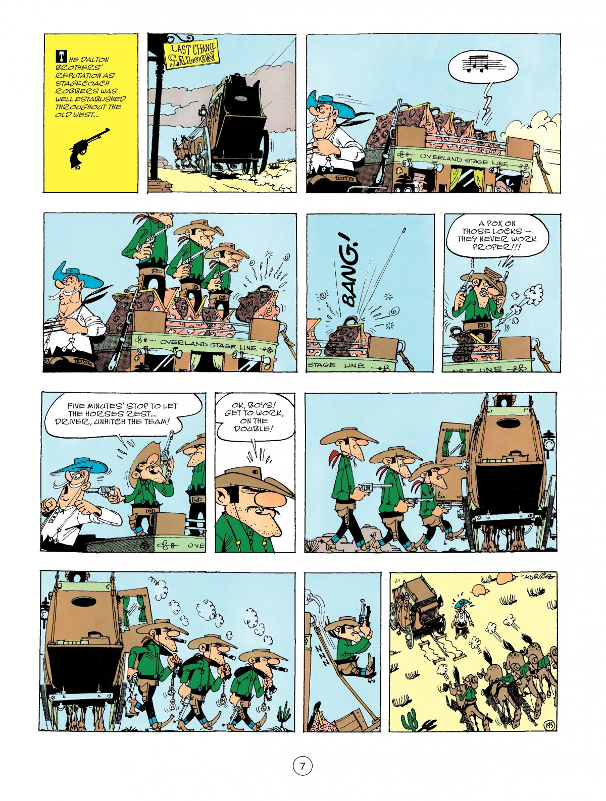 Read online A Lucky Luke Adventure comic -  Issue #47 - 7