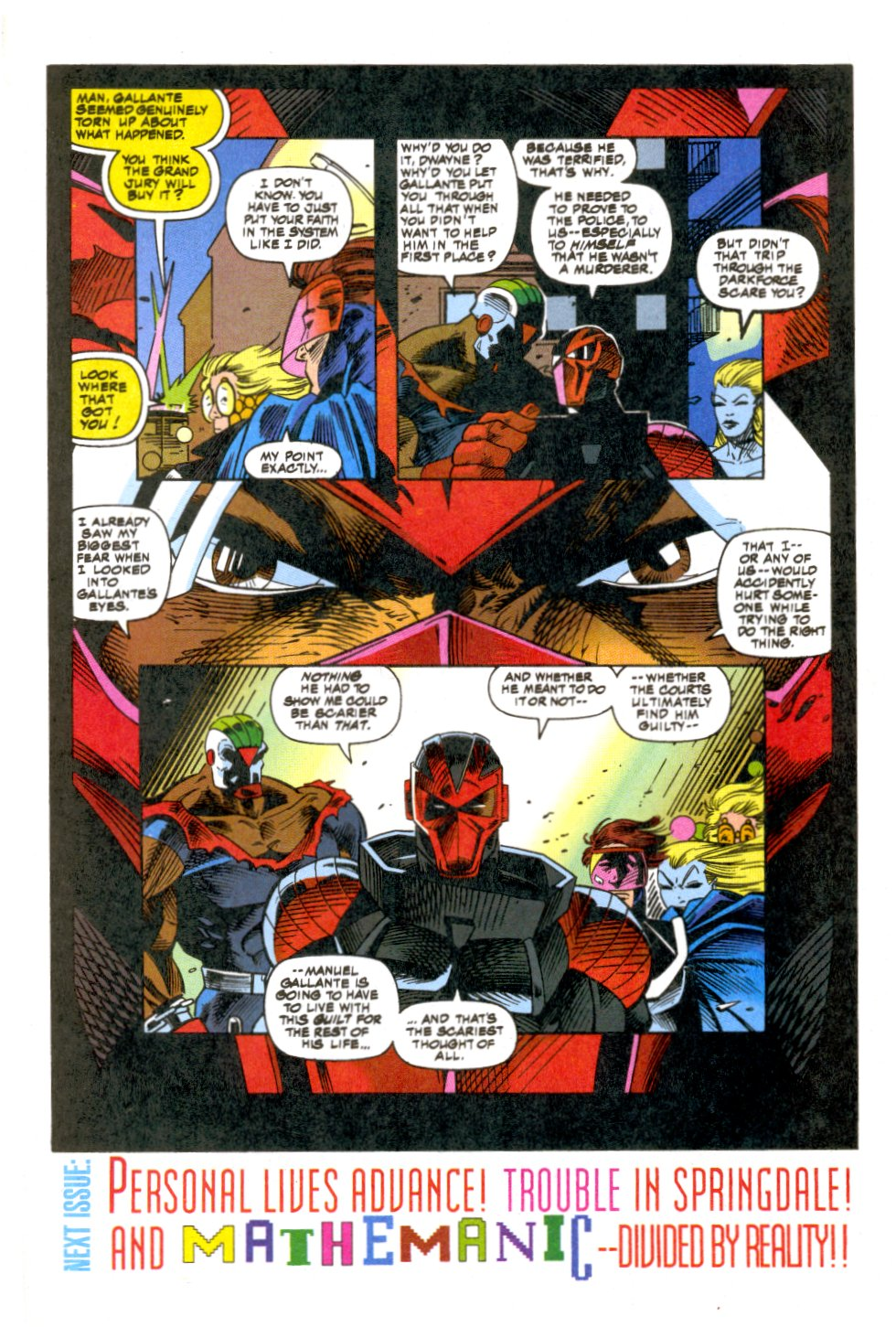 The New Warriors Issue #52 #56 - English 21