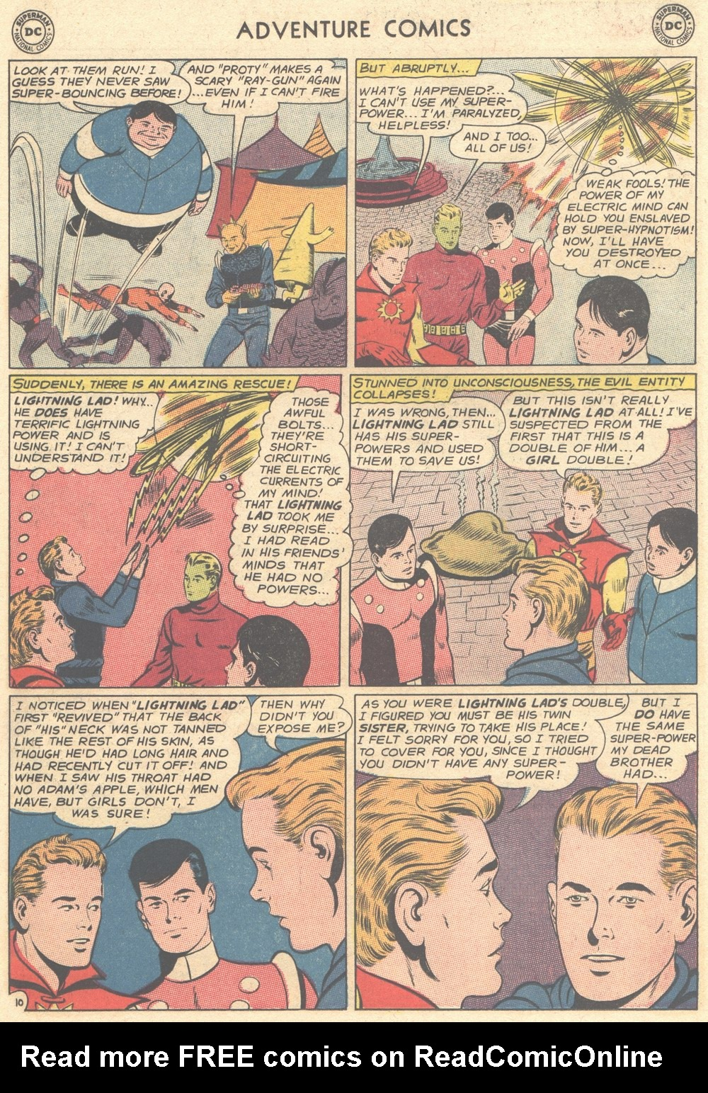 Read online Adventure Comics (1938) comic -  Issue #308 - 27