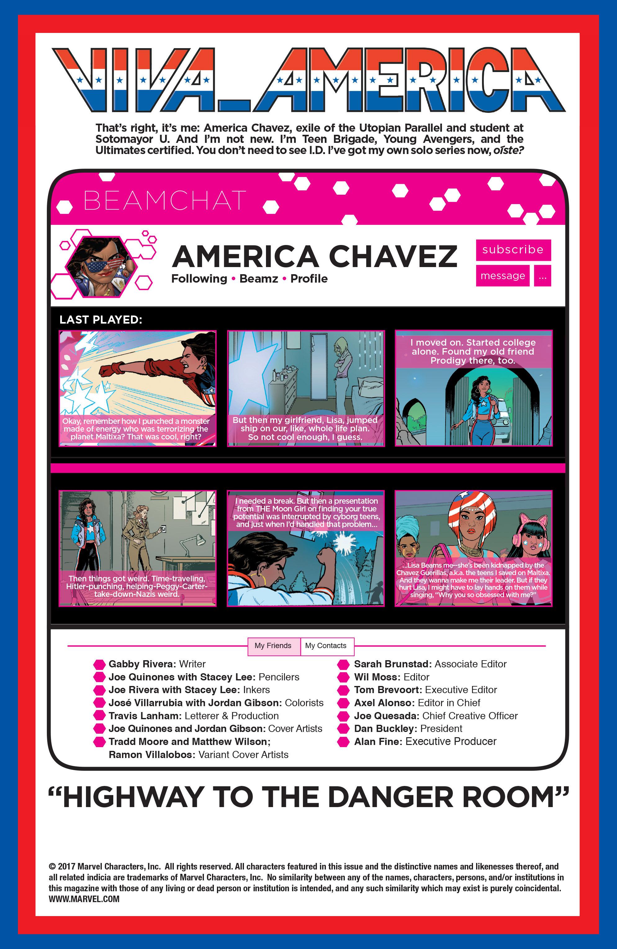 Read online America (2016) comic -  Issue #3 - 2