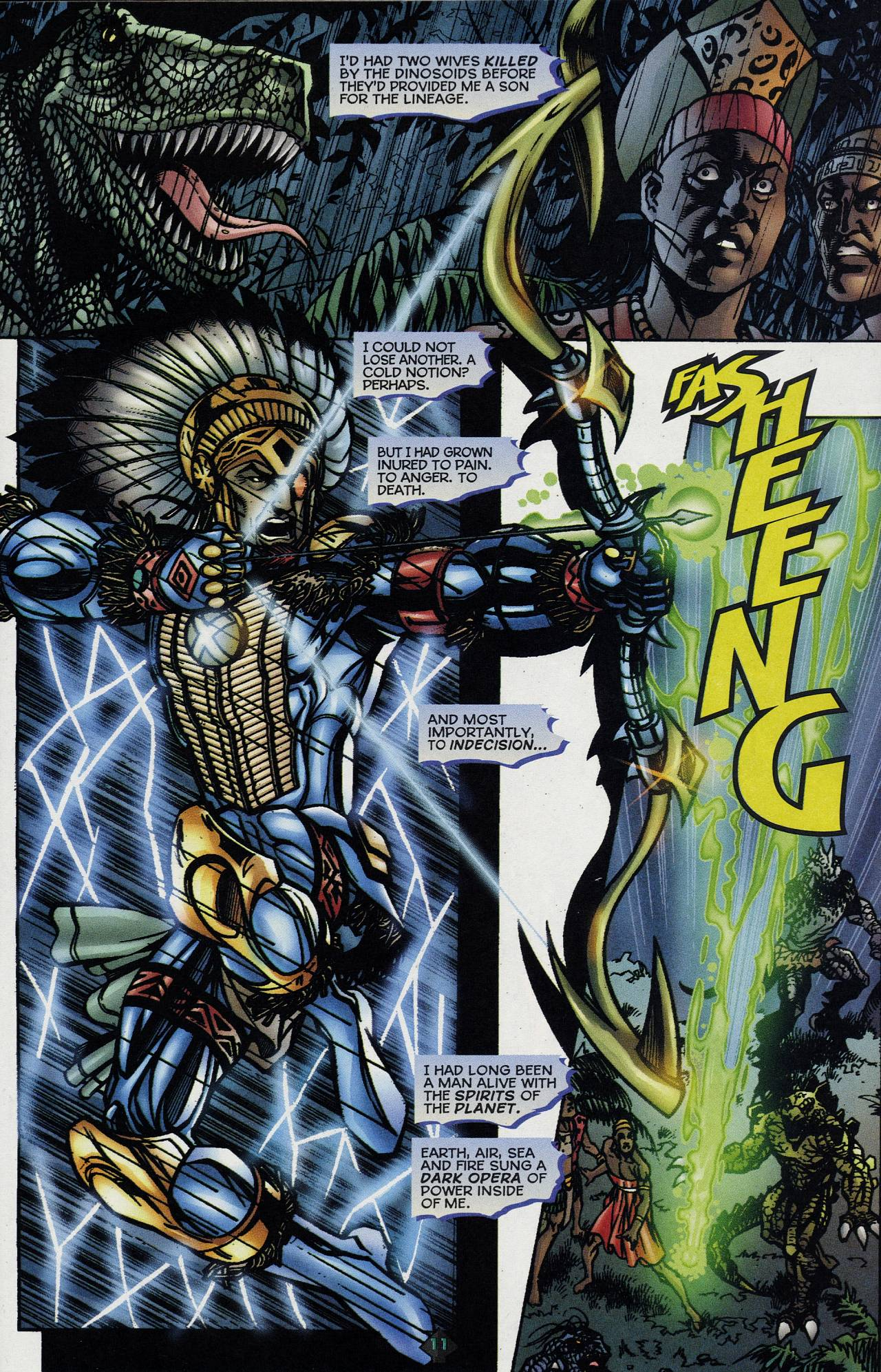 Read online Turok: Tales of the Lost Land comic -  Issue # Full - 9