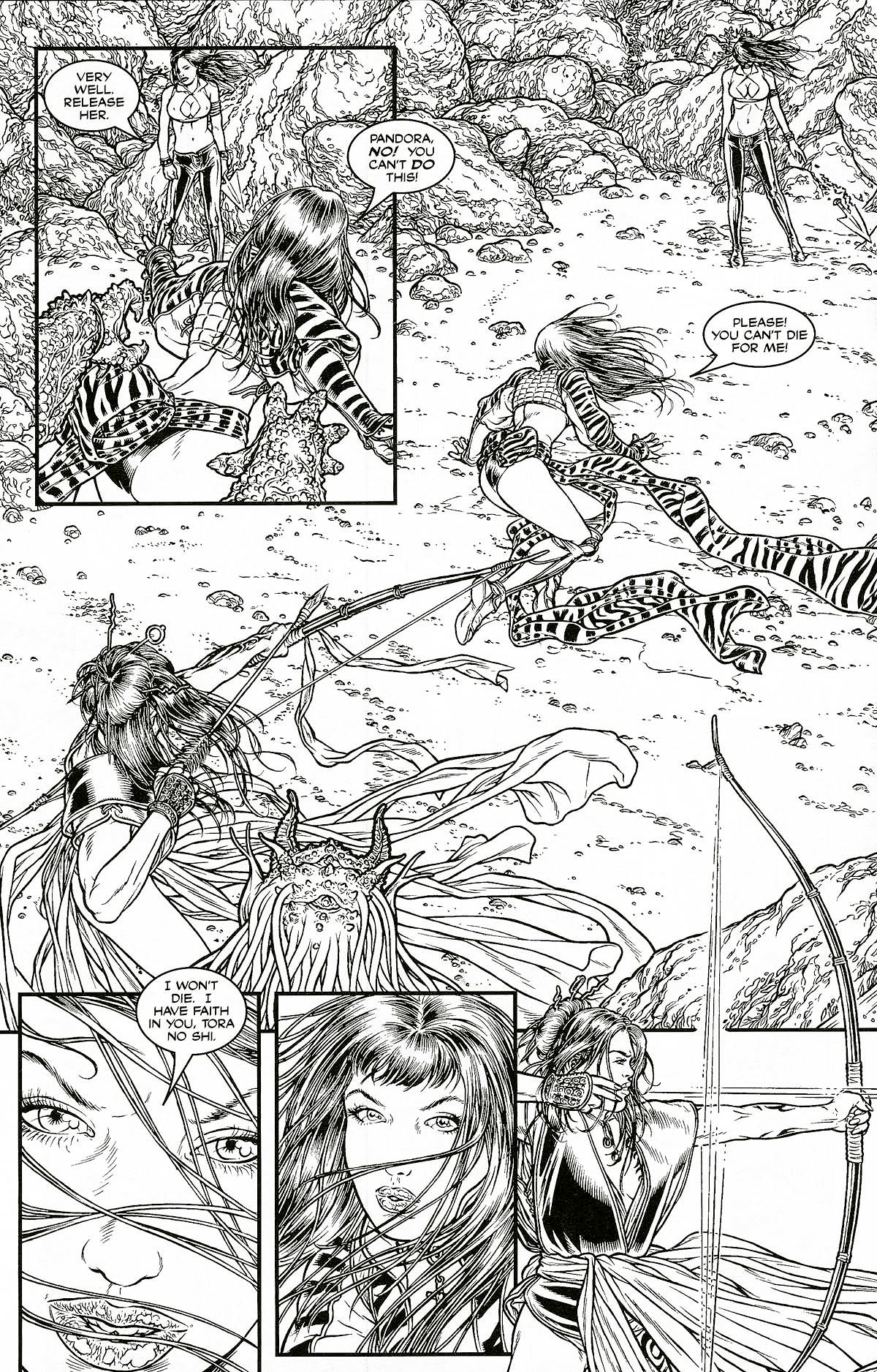 Read online Shi: Pandora's Box comic -  Issue #1 - 22