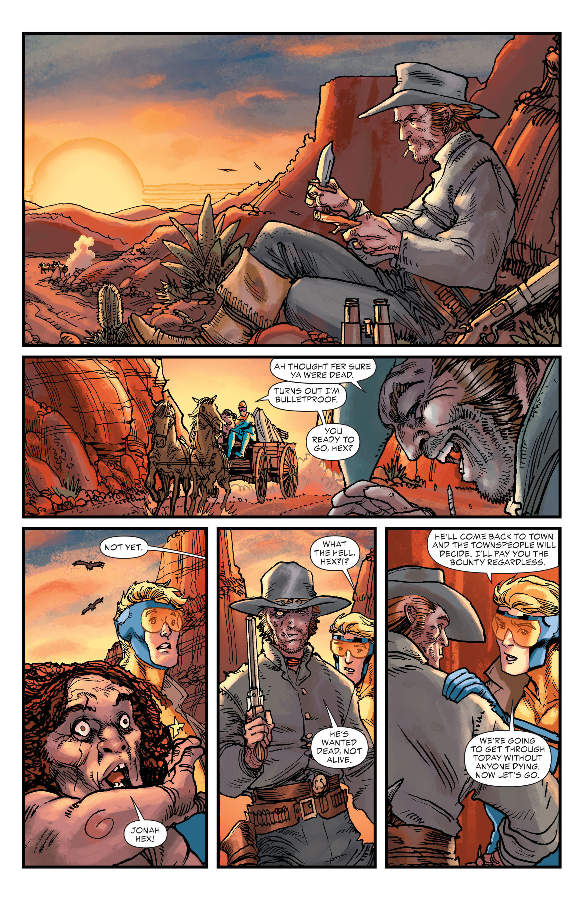 Read online All-Star Western (2011) comic -  Issue #20 - 19