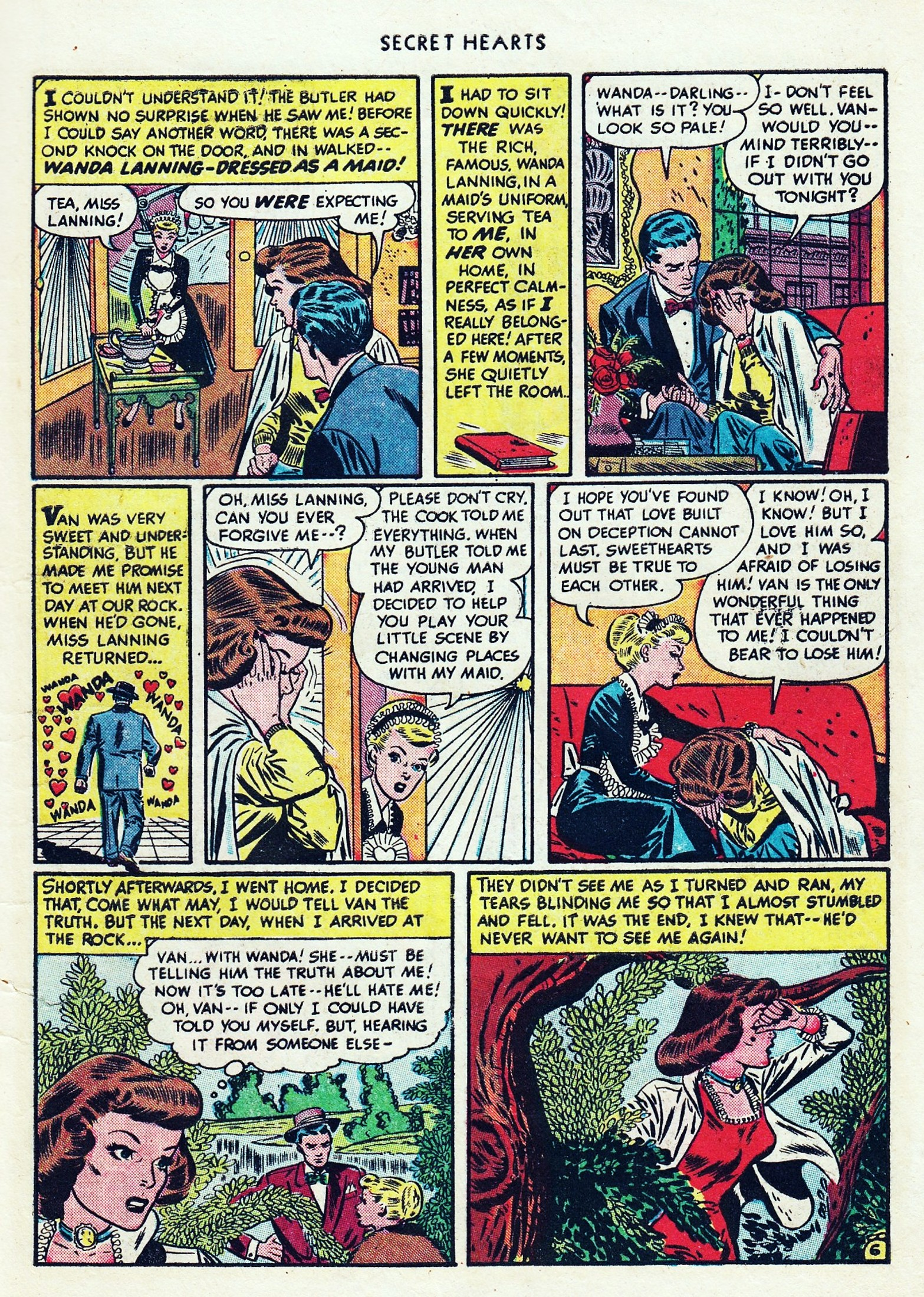 Read online Secret Hearts comic -  Issue #1 - 9