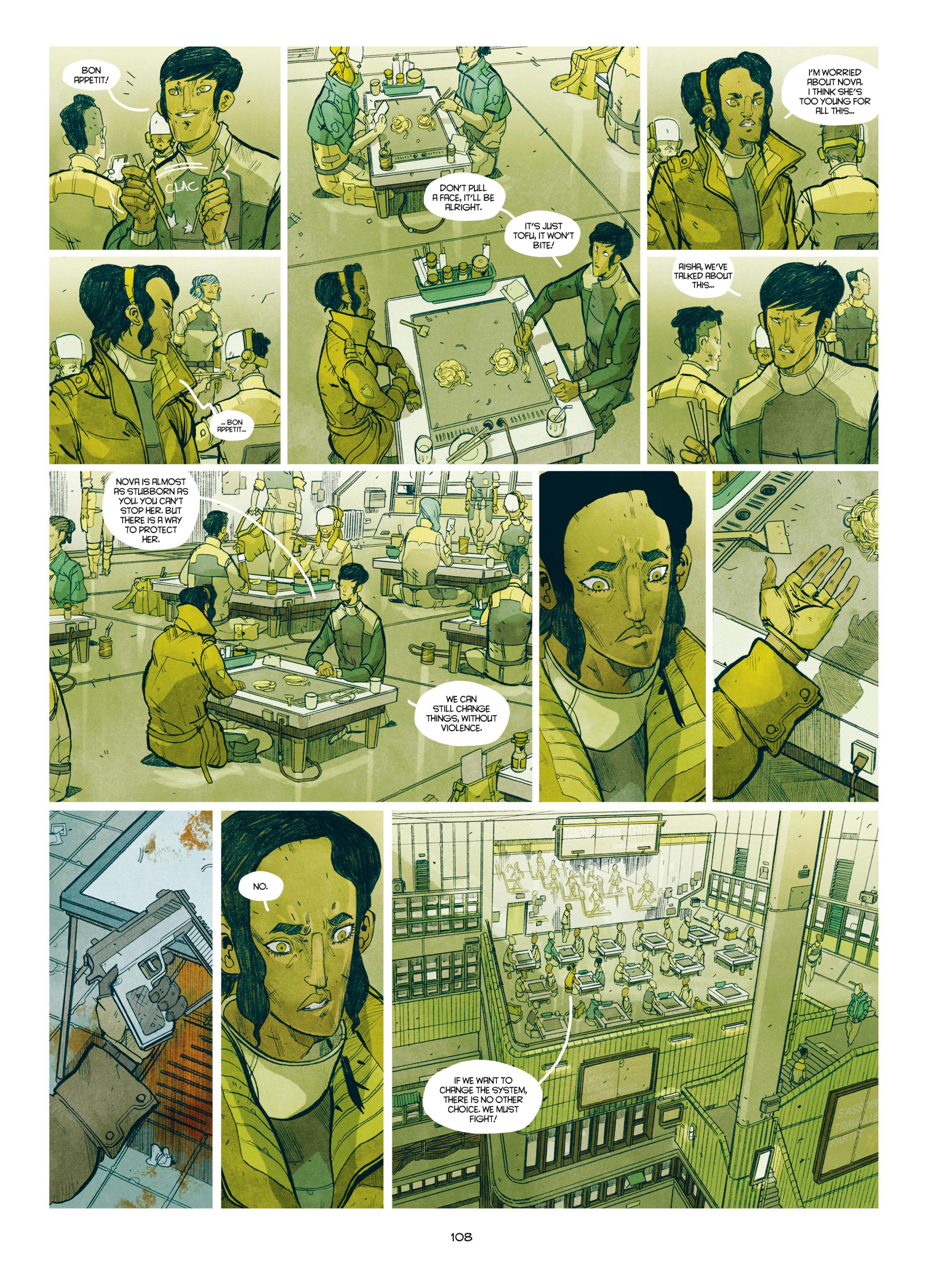 Read online Shangri-La comic -  Issue # Full - 109