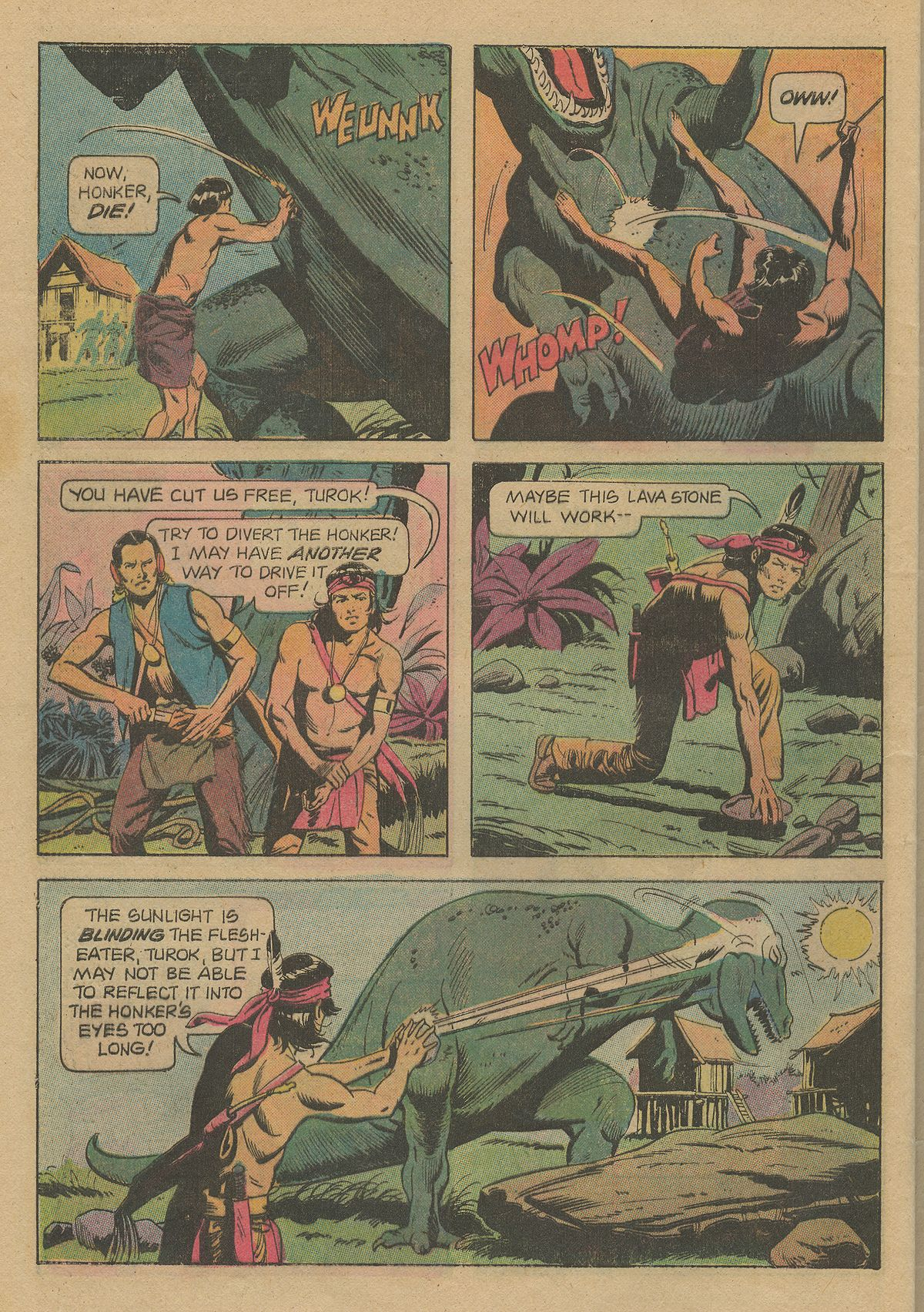 Read online Turok, Son of Stone comic -  Issue #103 - 32