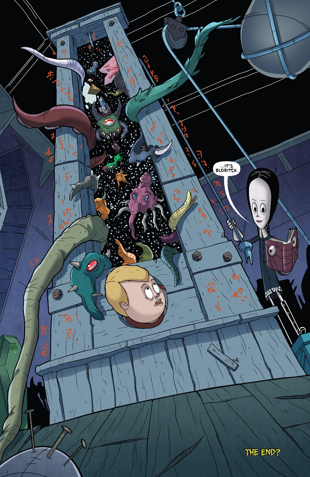 Read online Addams Family: The Bodies Issue comic -  Issue # Full - 26