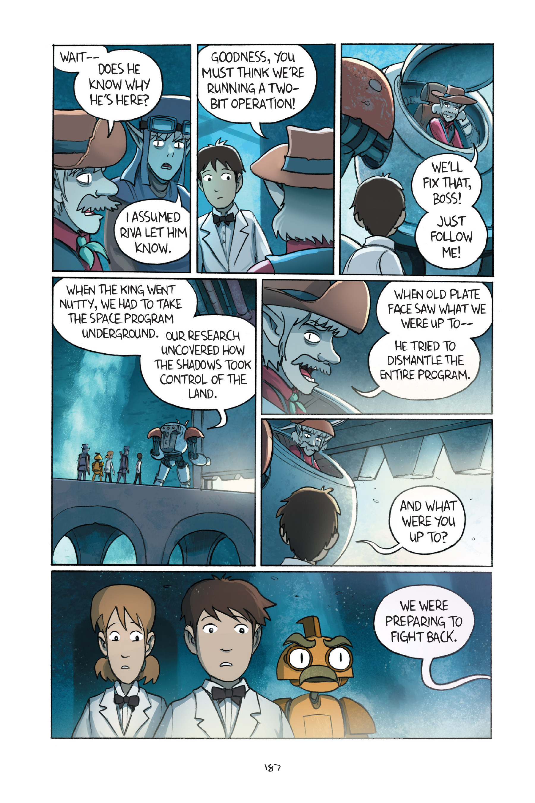 Read online Amulet comic -  Issue #7 - 186