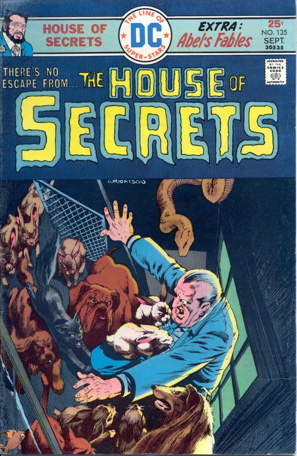 House of Secrets (1956) issue 135 - Page 1