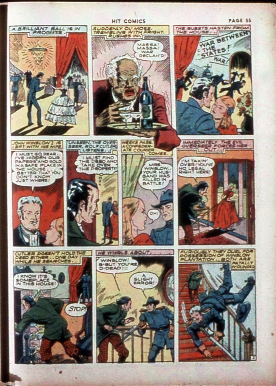 Read online Hit Comics comic -  Issue #14 - 57