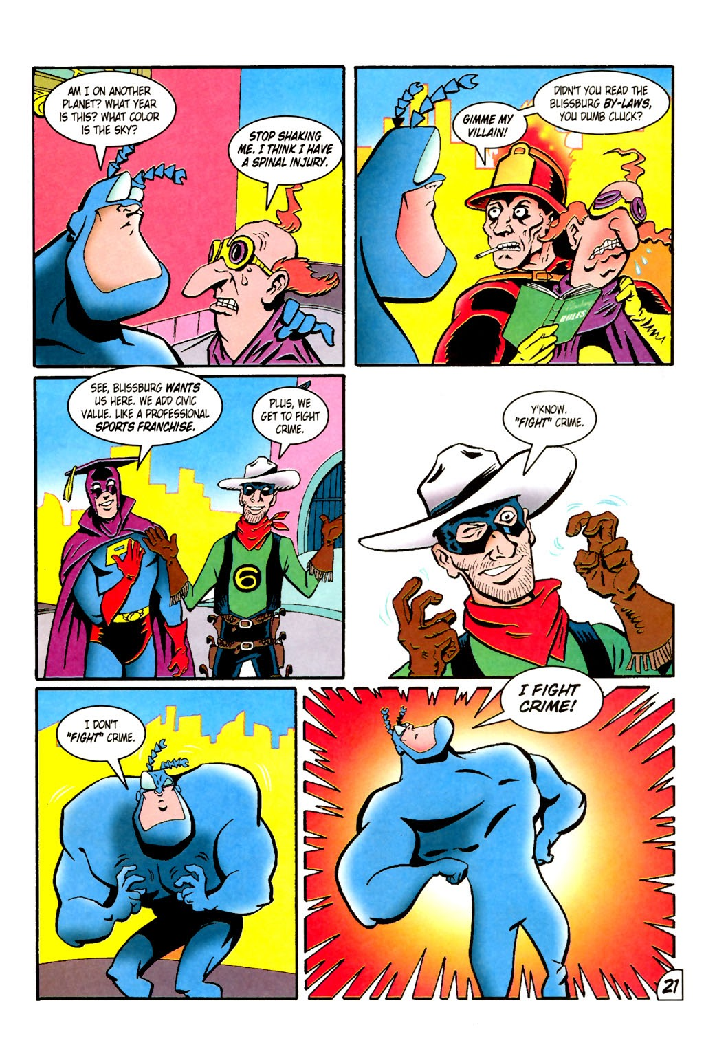 Read online The Tick: Days of Drama comic -  Issue #1 - 25