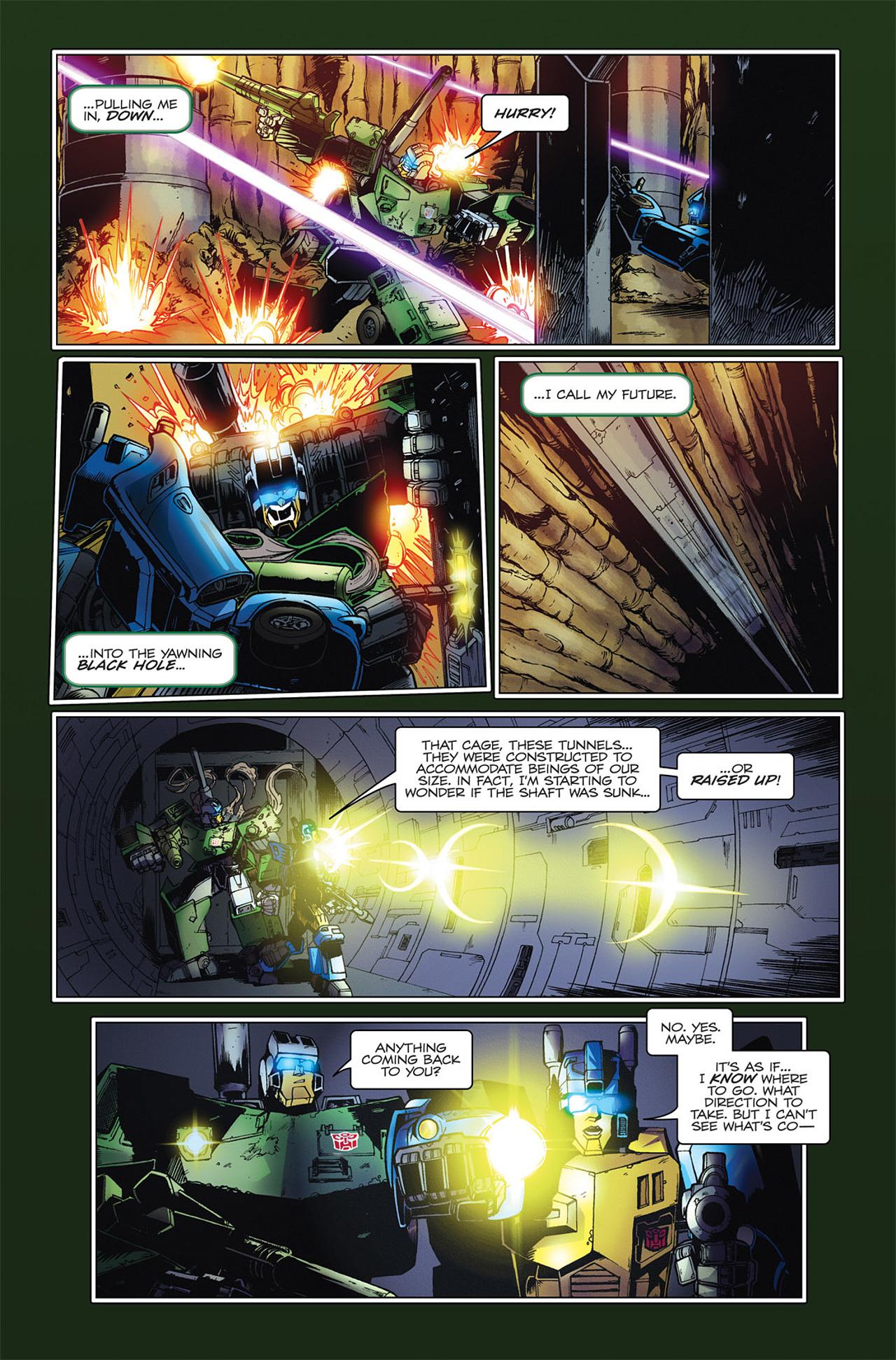 Read online Transformers Spotlight: Hardhead comic -  Issue # Full - 16
