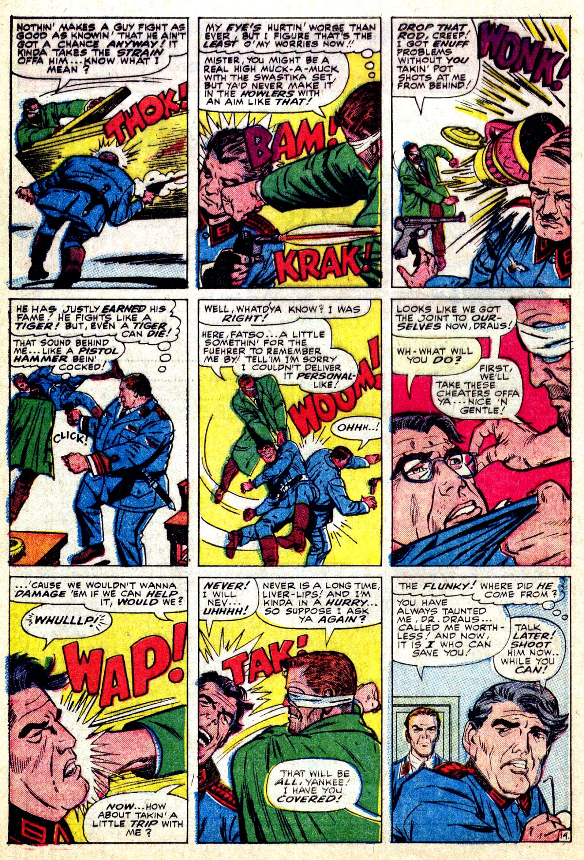 Read online Sgt. Fury comic -  Issue #27 - 20