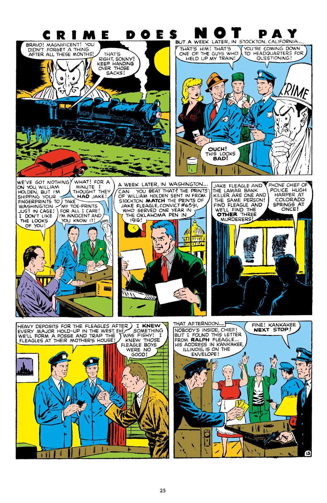 Read online Crime Does Not Pay Archives comic -  Issue # TPB 8 (Part 1) - 27