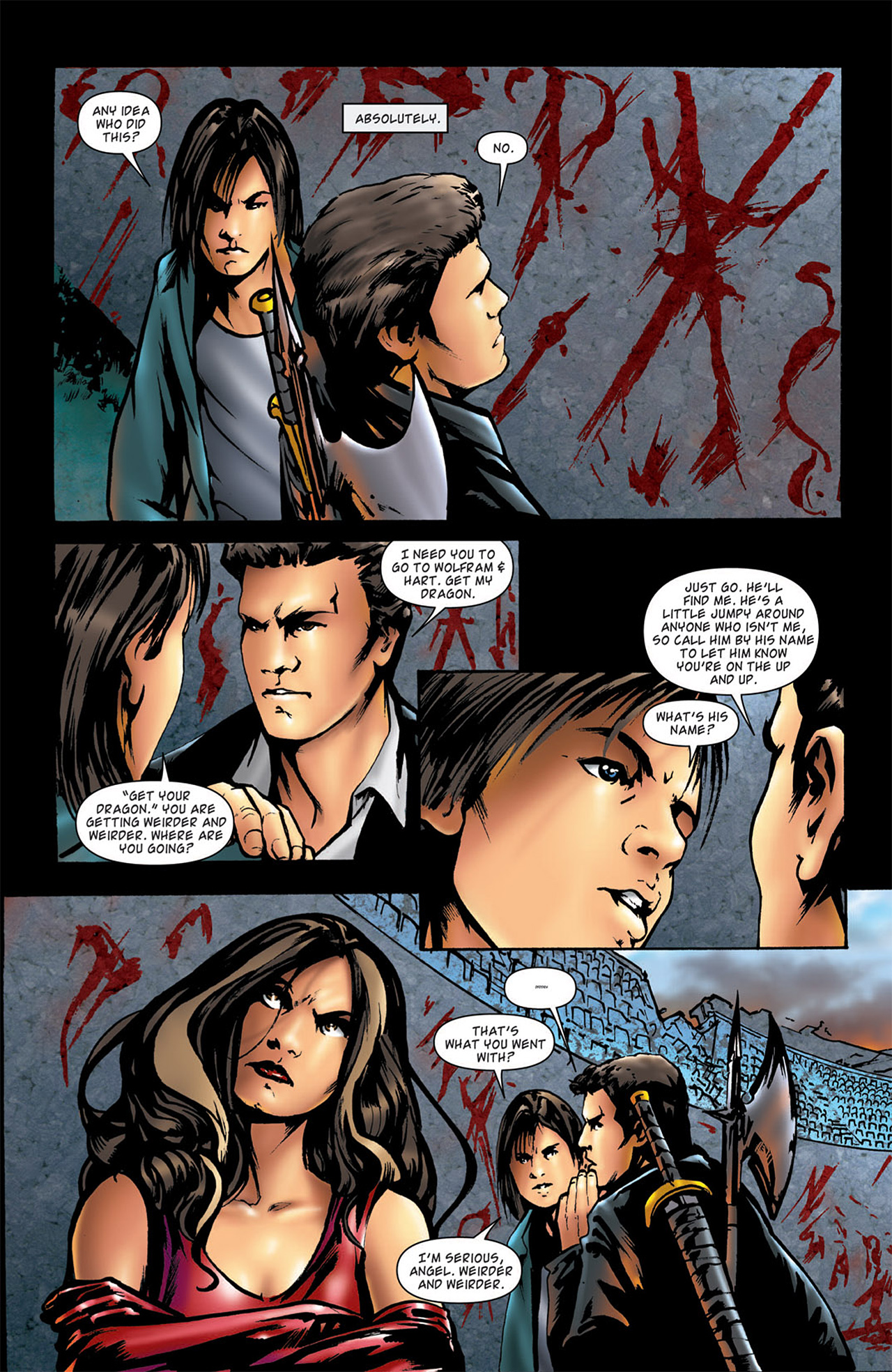 Read online Angel: After The Fall comic -  Issue #2 - 18