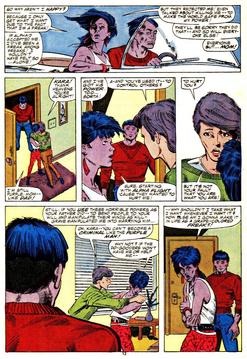 Read online Alpha Flight (1983) comic -  Issue #42 - 13