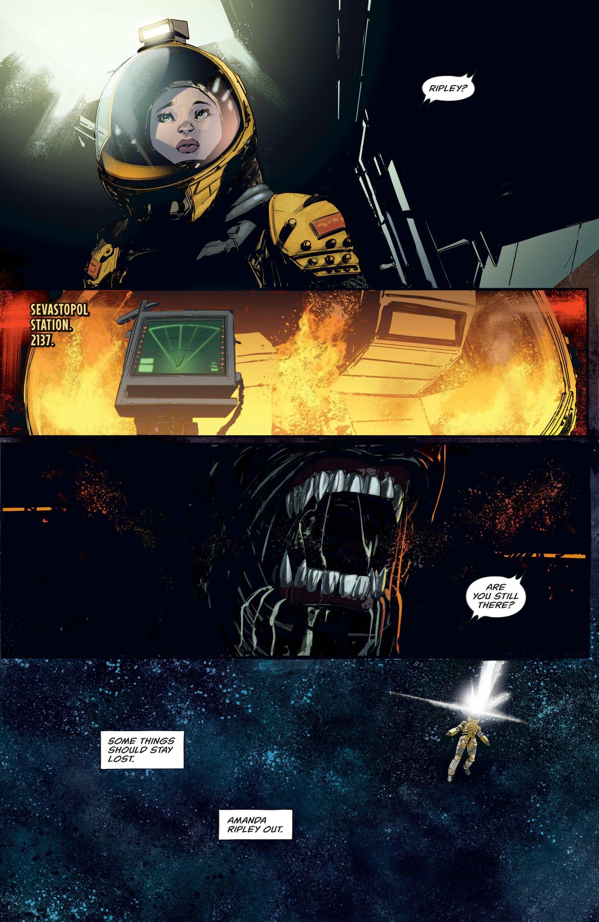 Read online Aliens: Resistance comic -  Issue # _TPB - 8