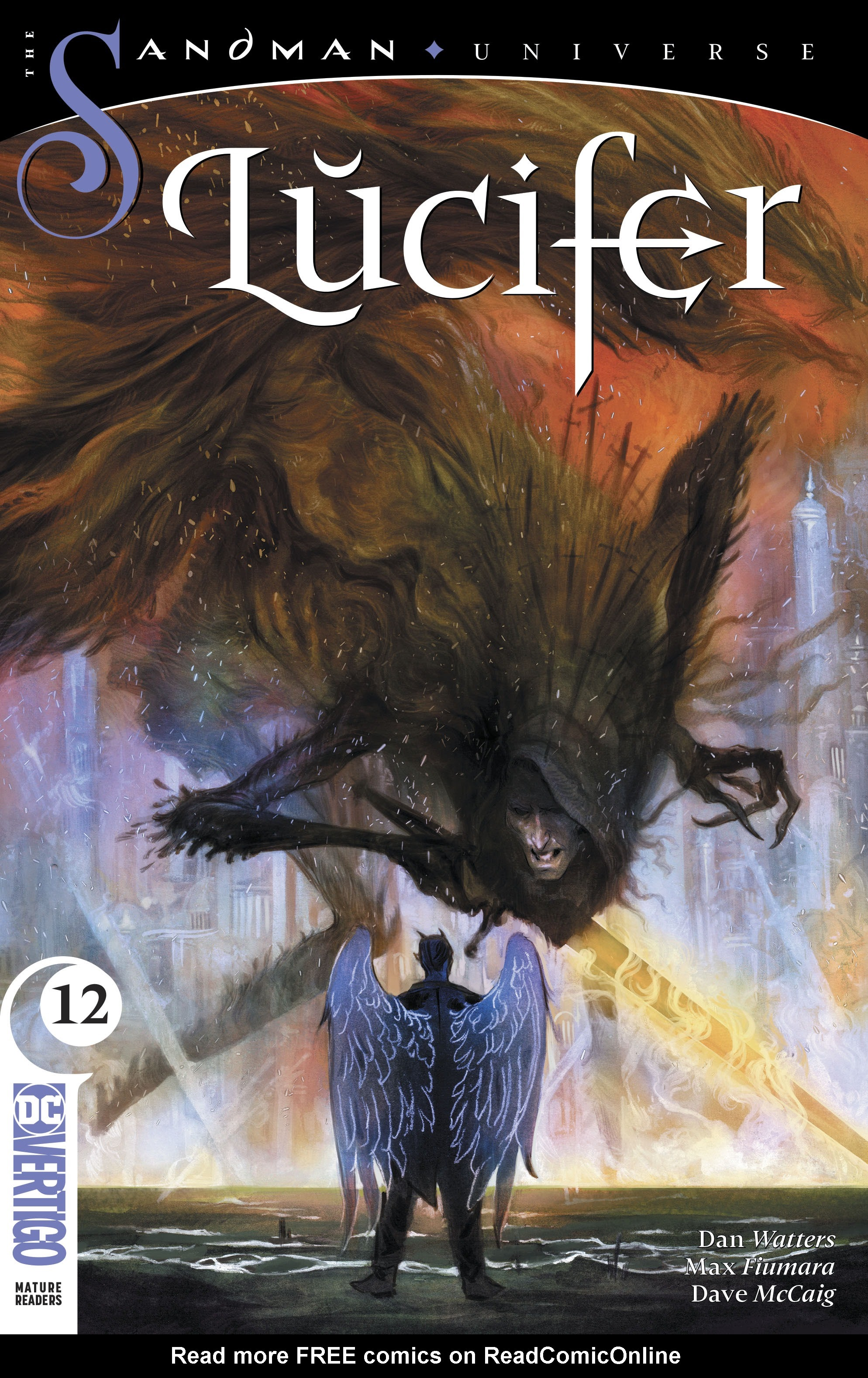 Read online Lucifer (2018) comic -  Issue #12 - 1