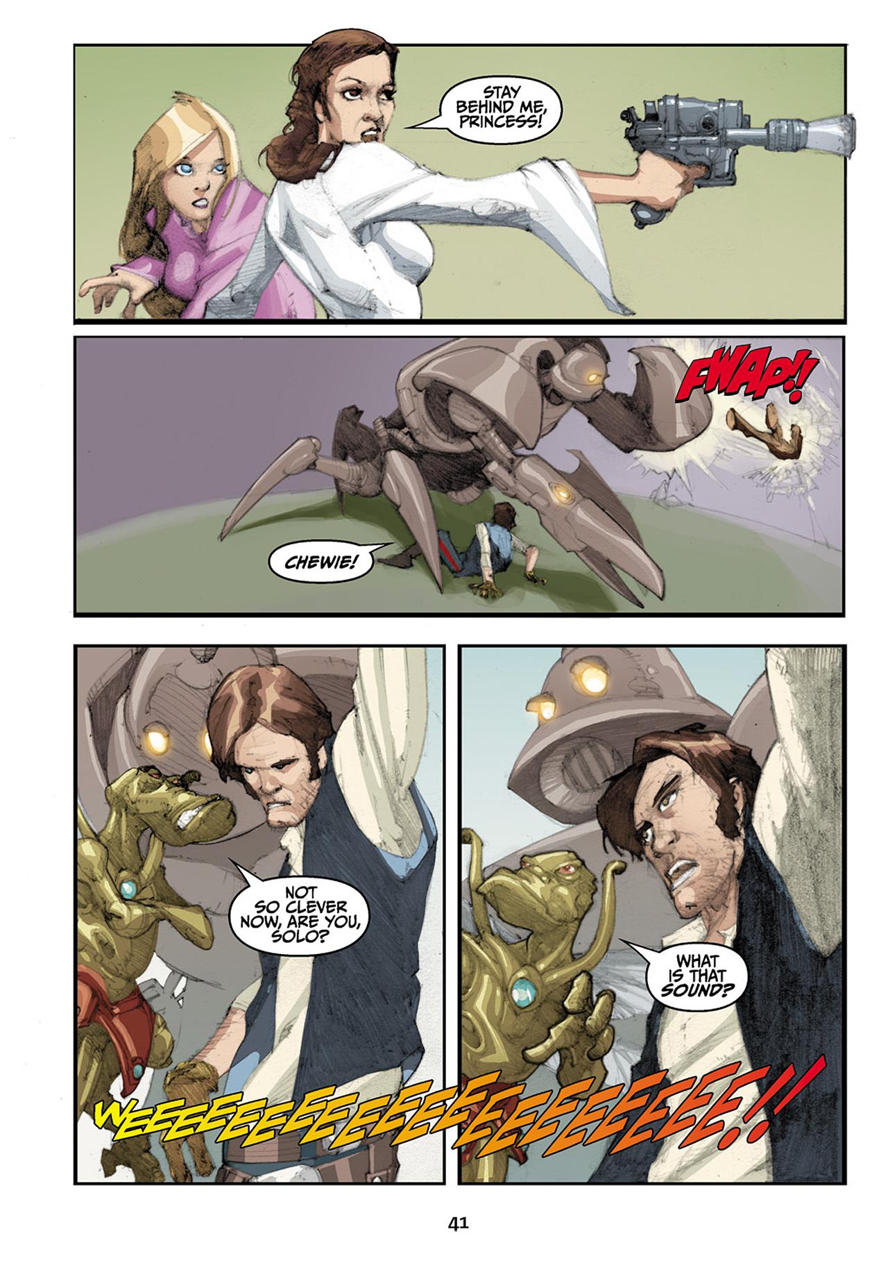 Read online Star Wars Omnibus comic -  Issue # Vol. 33 - 123