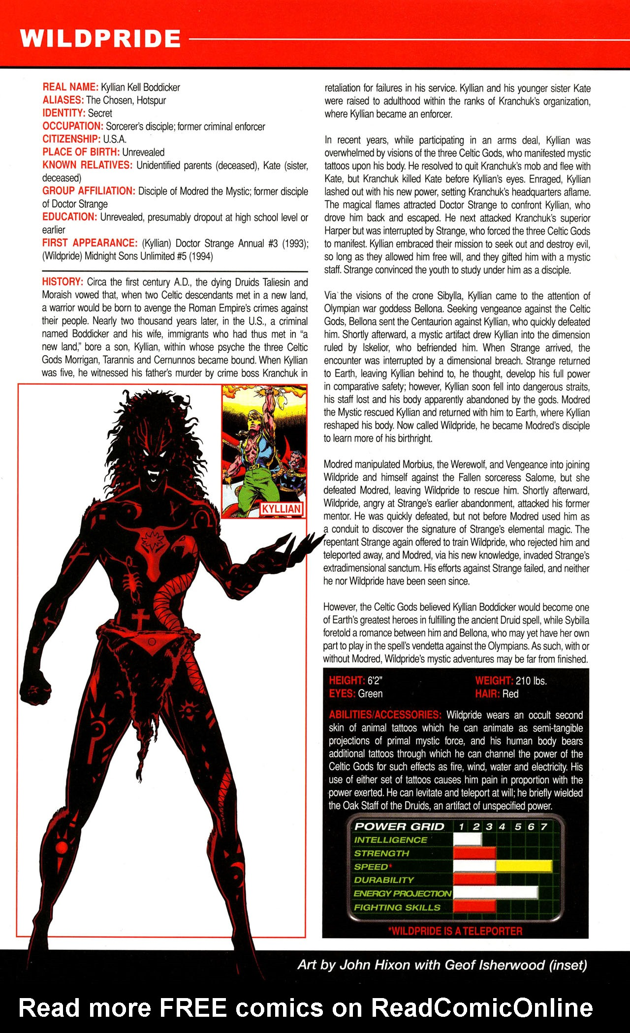 Read online All-New Official Handbook of the Marvel Universe A to Z comic -  Issue #12 - 38