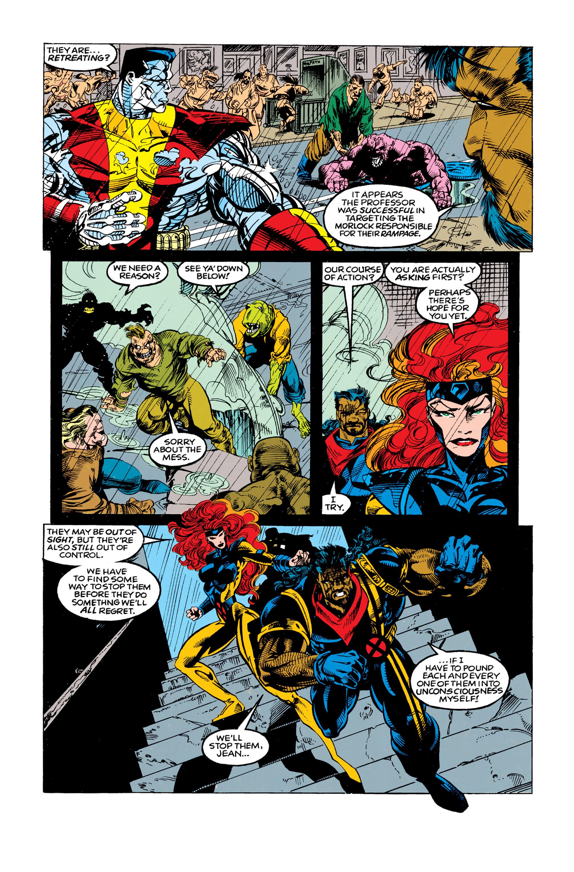 Read online Uncanny X-Men (1963) comic -  Issue #292 - 21