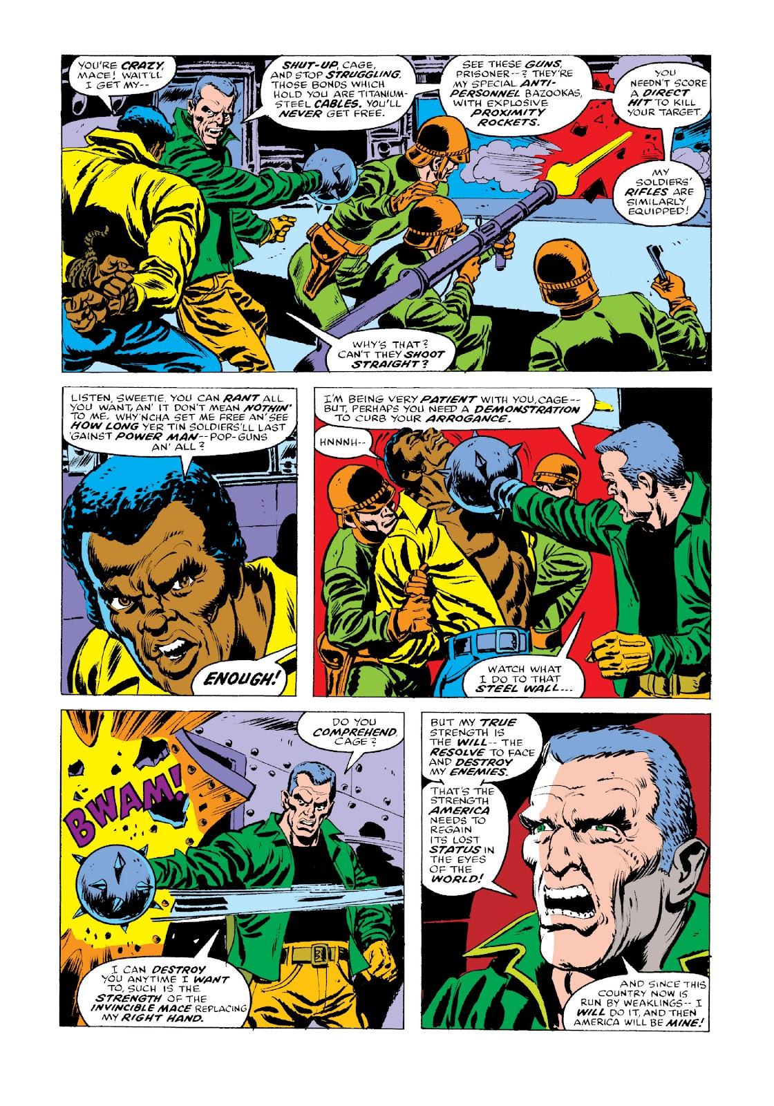 Read online Marvel Masterworks: Luke Cage, Power Man comic -  Issue # TPB 3 (Part 3) - 47