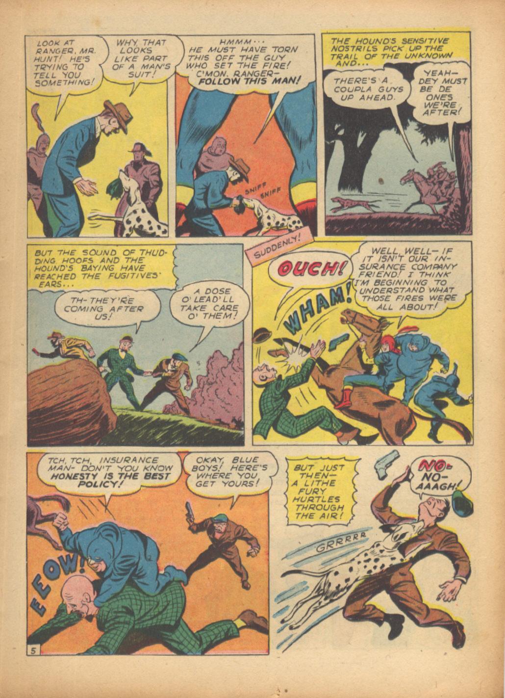 Read online Sensation (Mystery) Comics comic -  Issue #24 - 29