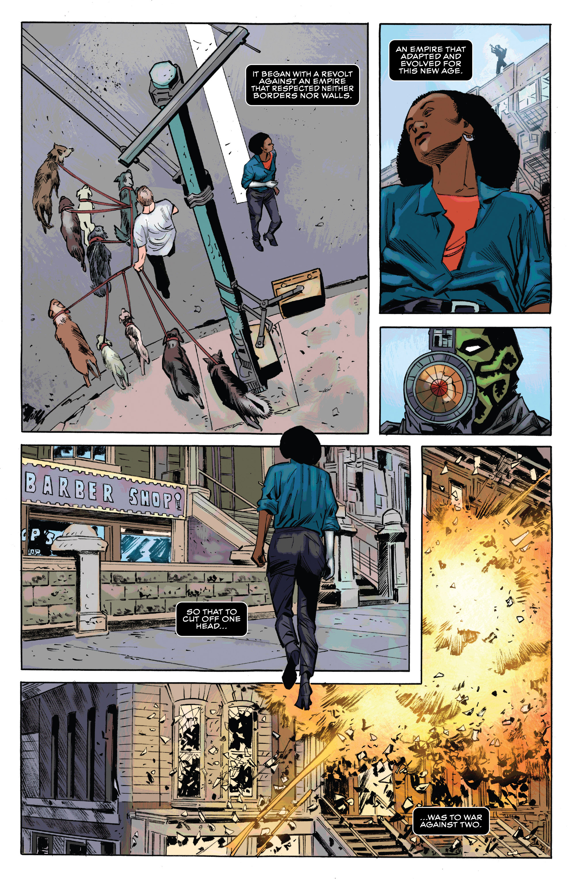 Read online Black Panther and the Crew comic -  Issue #3 - 21